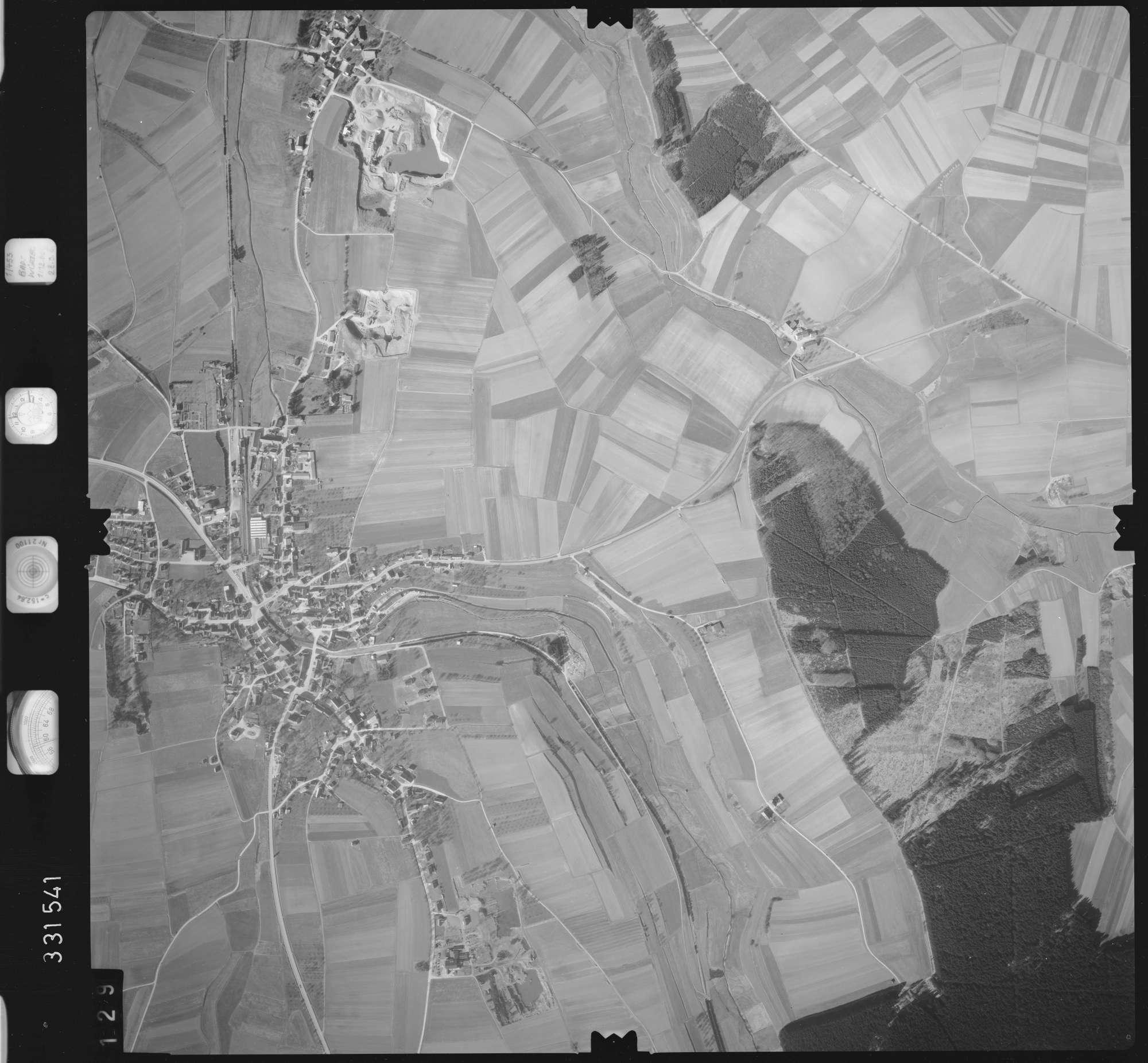 Luftbild: Film 51 Bildnr. 129, Bild 1