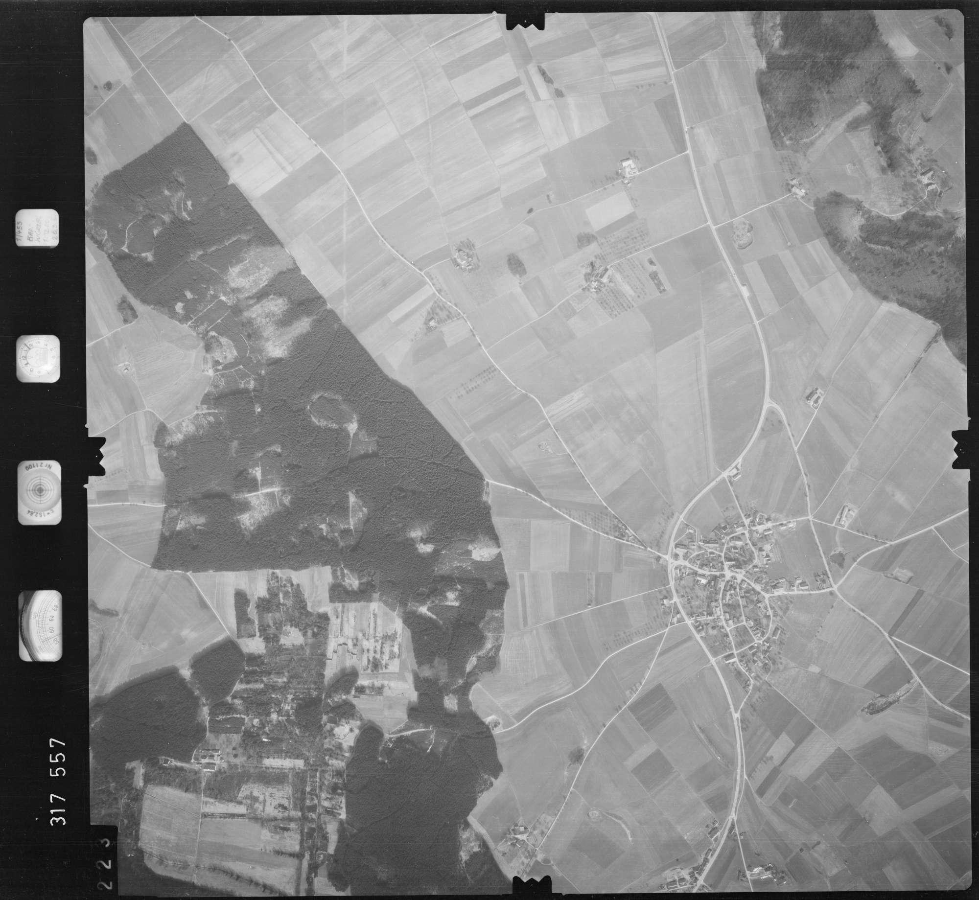 Luftbild: Film 57 Bildnr. 223, Bild 1