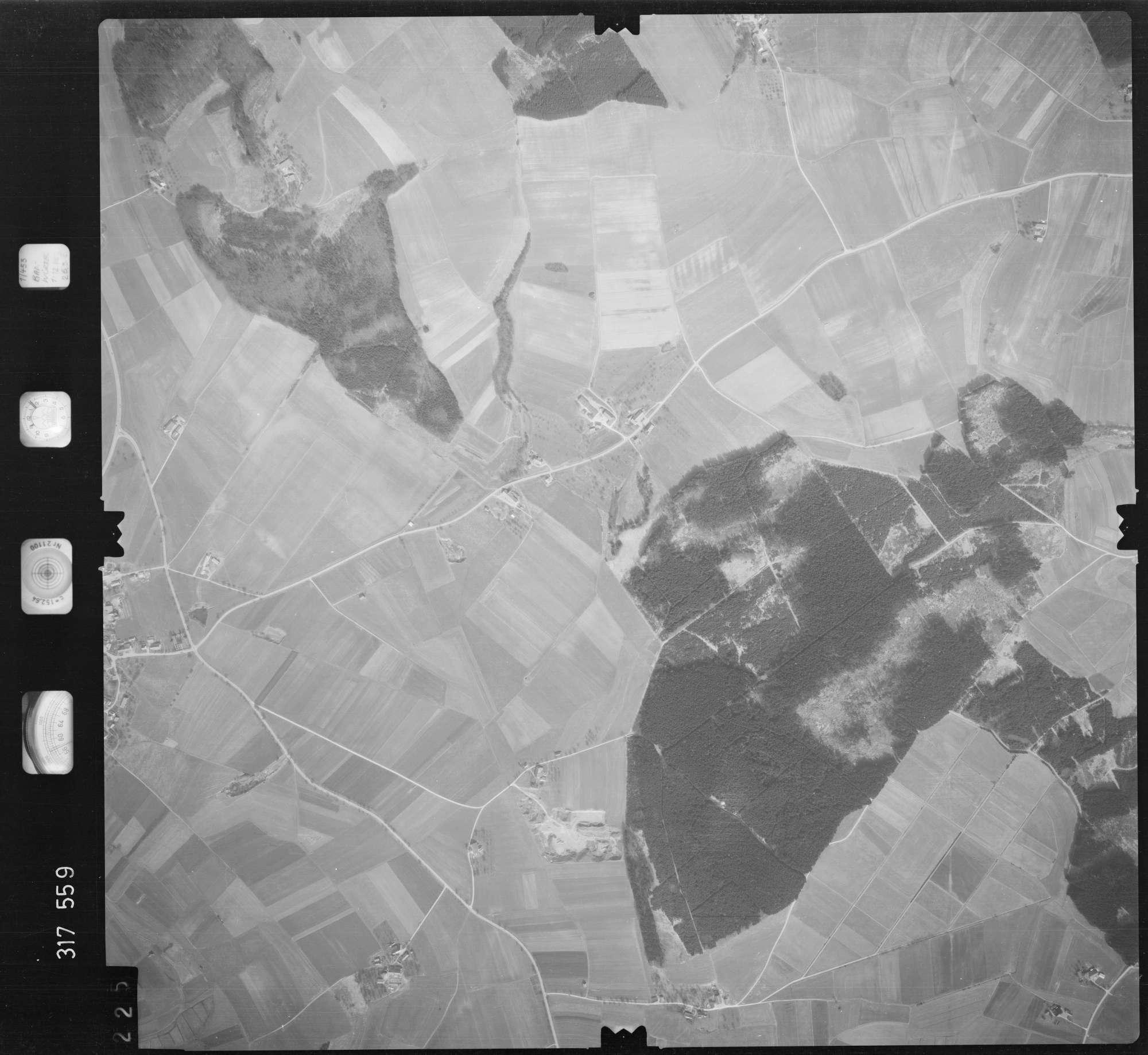 Luftbild: Film 57 Bildnr. 225, Bild 1