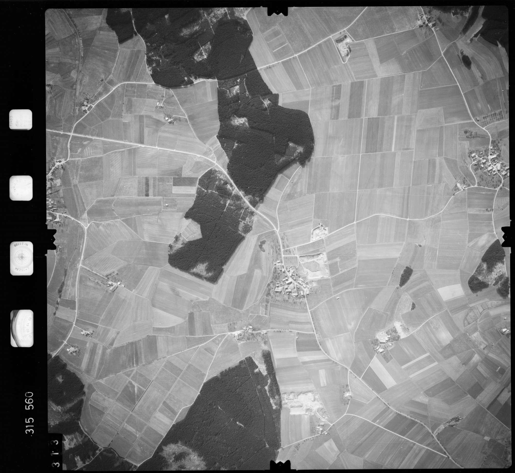 Luftbild: Film 58 Bildnr. 313, Bild 1