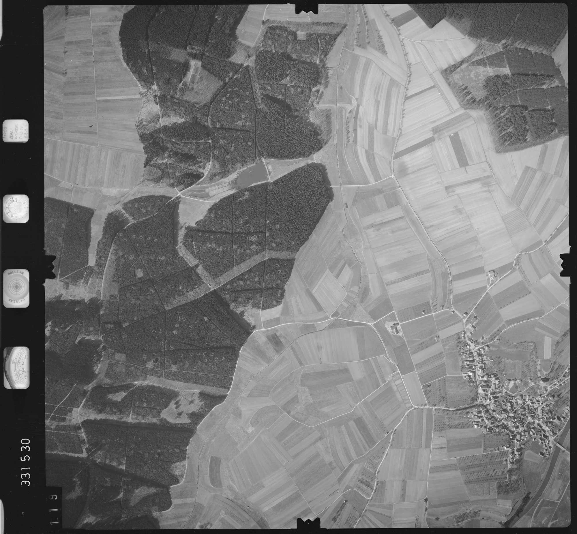 Luftbild: Film 51 Bildnr. 119, Bild 1