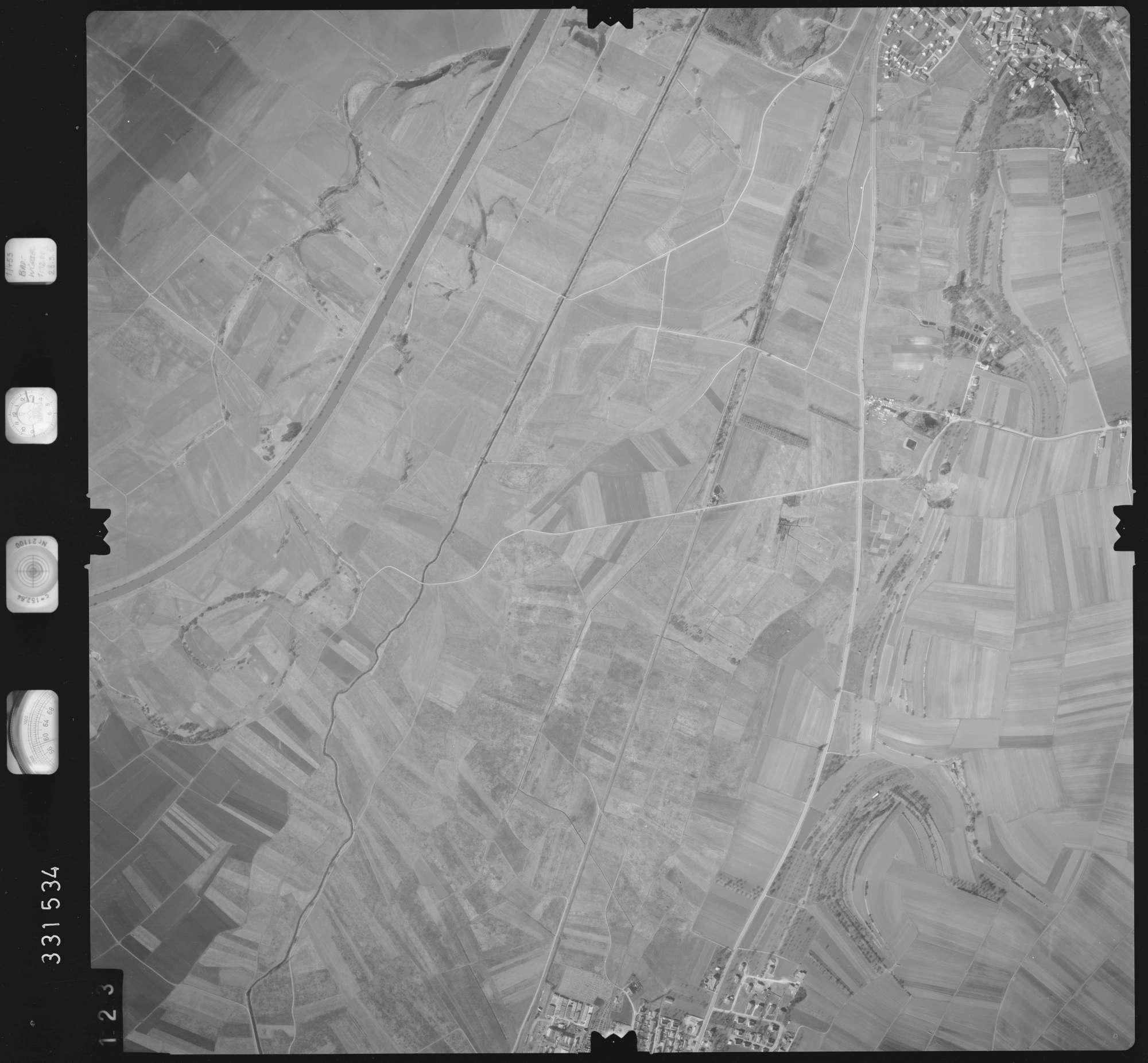 Luftbild: Film 51 Bildnr. 123, Bild 1