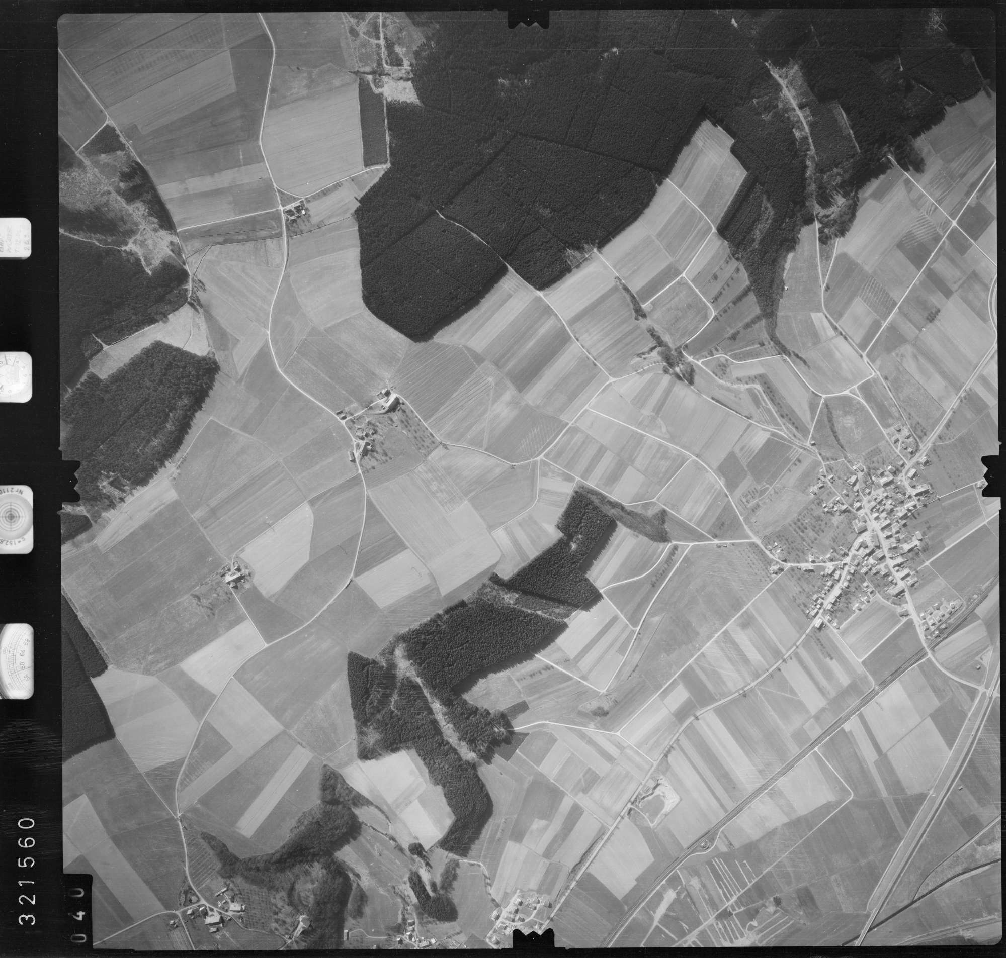 Luftbild: Film 53 Bildnr. 40, Bild 1
