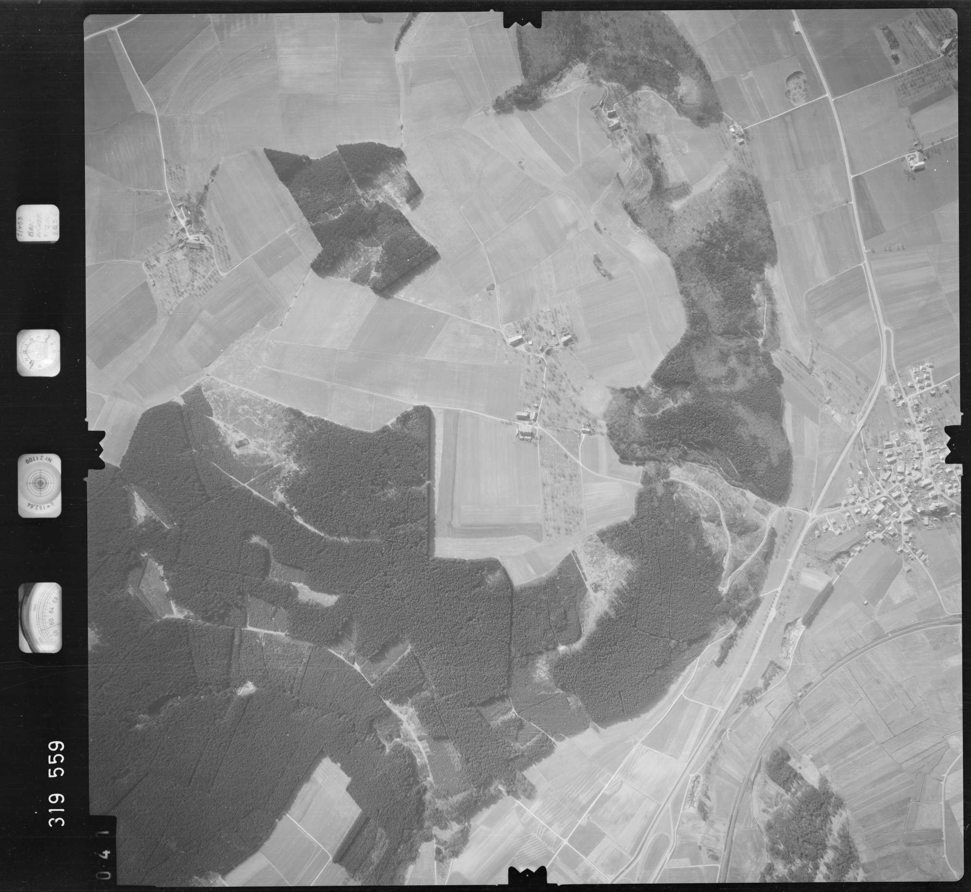 Luftbild: Film 57 Bildnr. 41, Bild 1