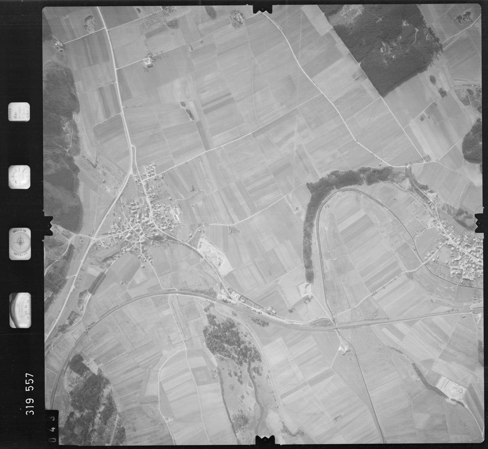 Luftbild: Film 57 Bildnr. 43, Bild 1
