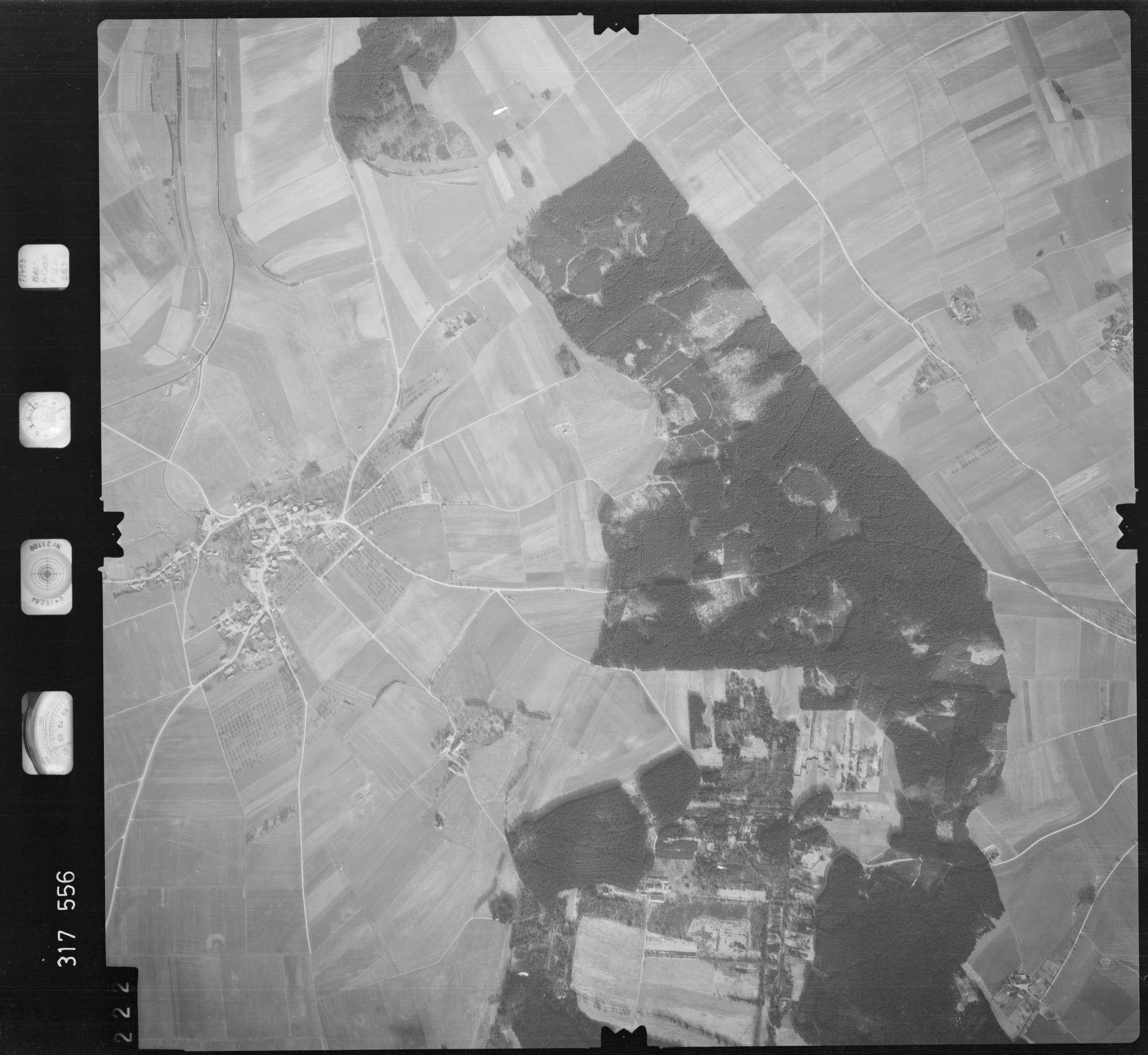 Luftbild: Film 57 Bildnr. 222, Bild 1