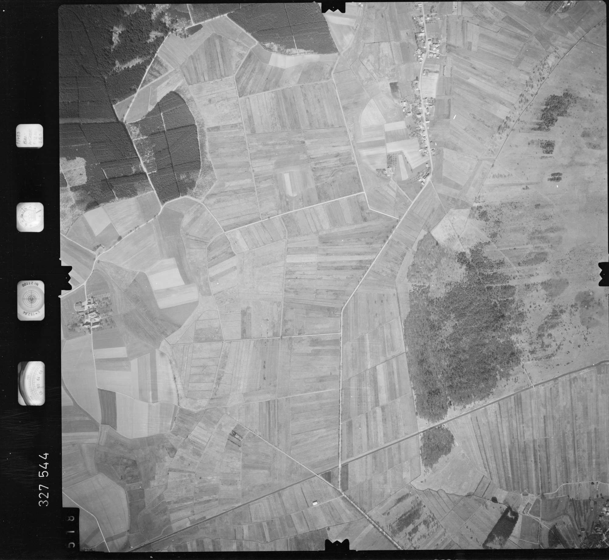 Luftbild: Film 52 Bildnr. 518, Bild 1