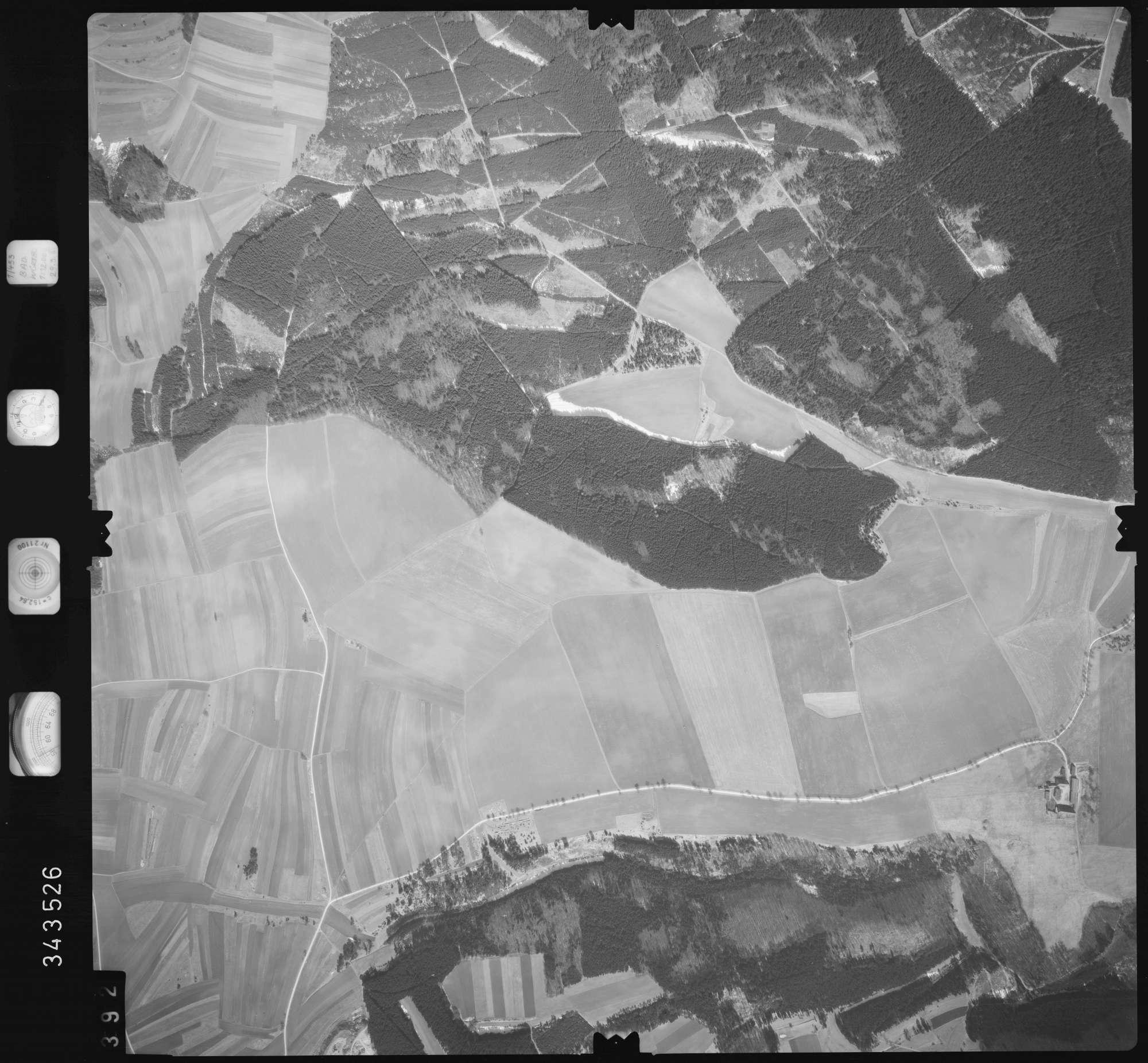 Luftbild: Film 46 Bildnr. 392, Bild 1