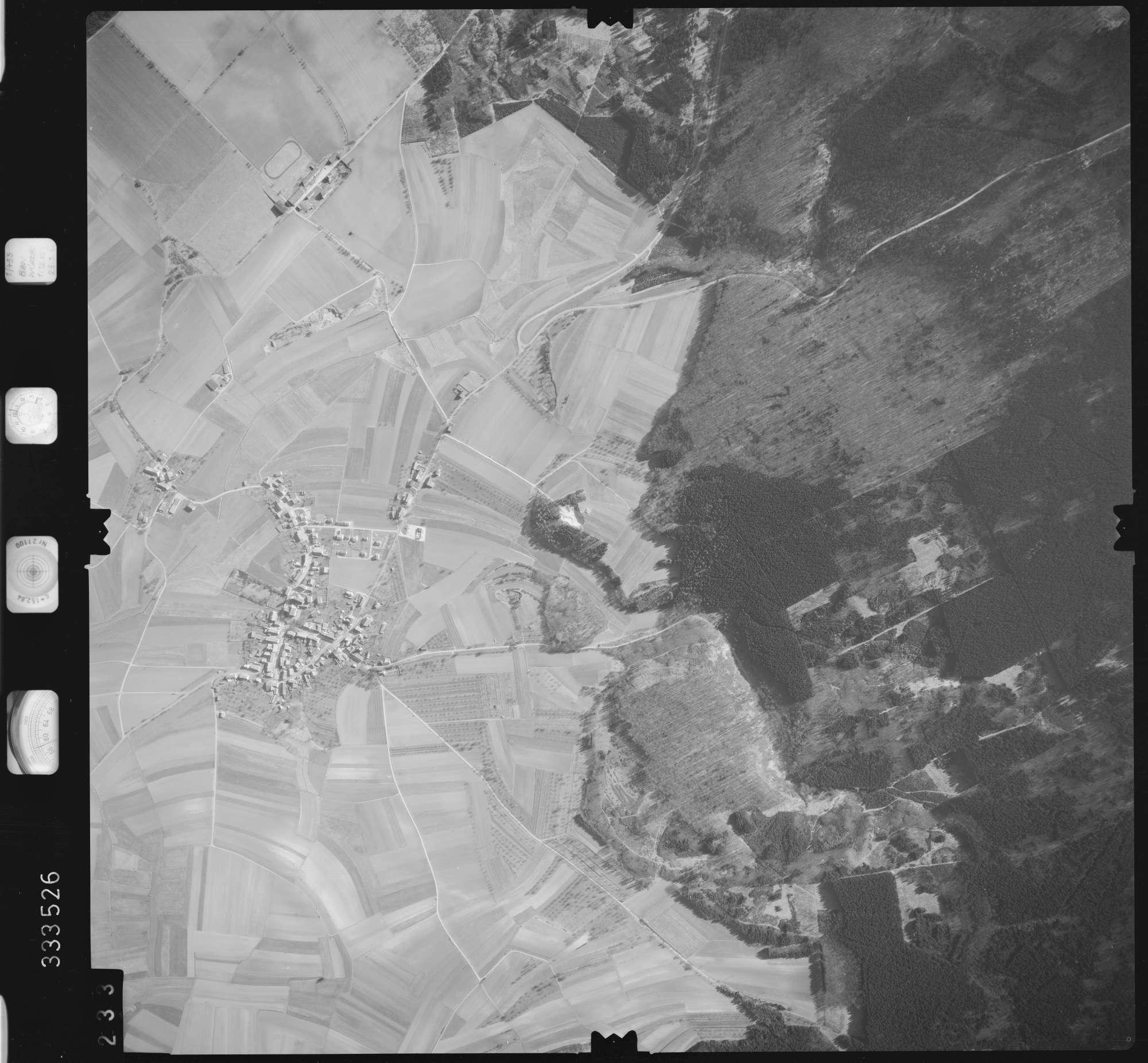Luftbild: Film 51 Bildnr. 233, Bild 1