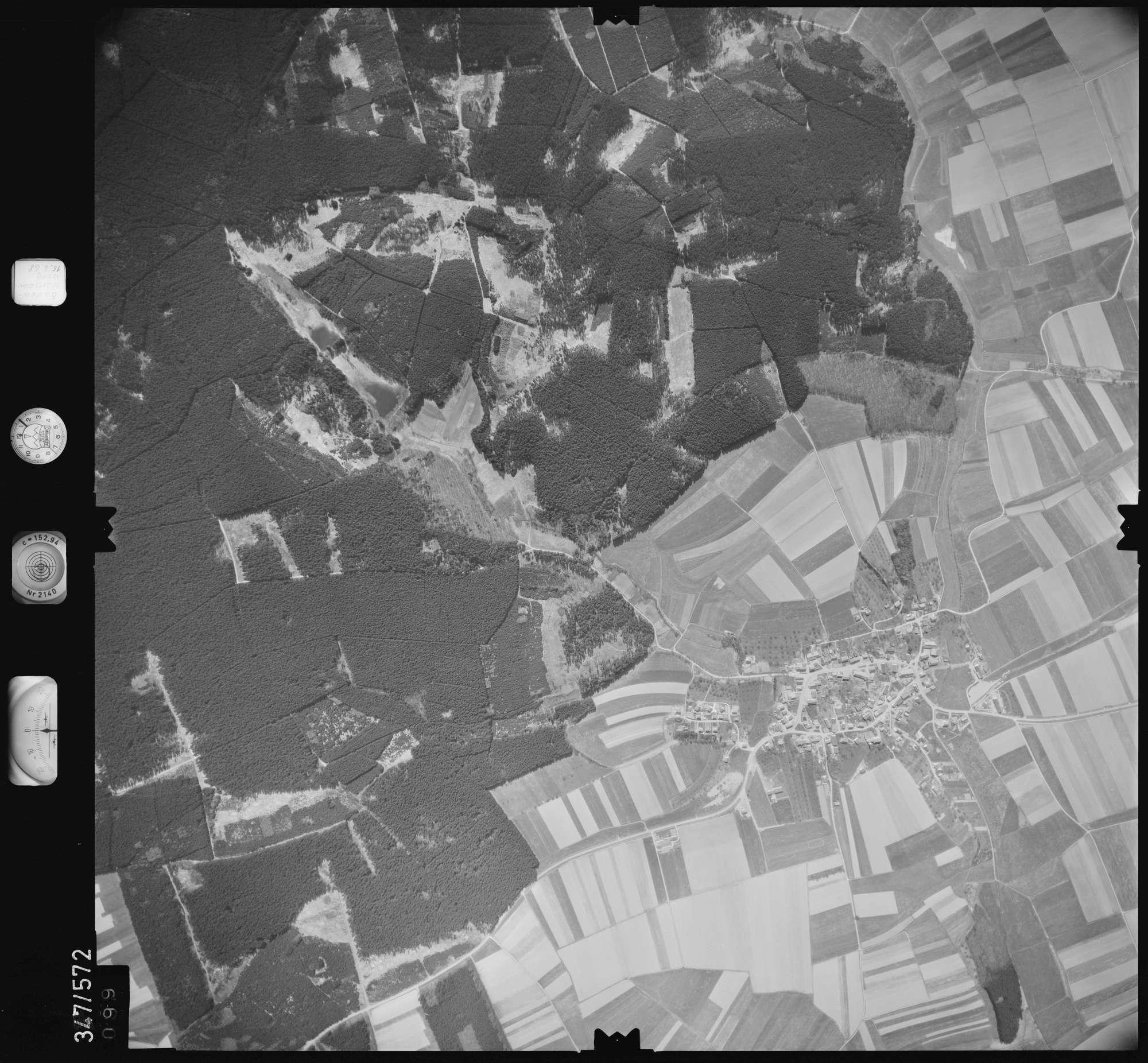 Luftbild: Film 45 Bildnr. 99, Bild 1