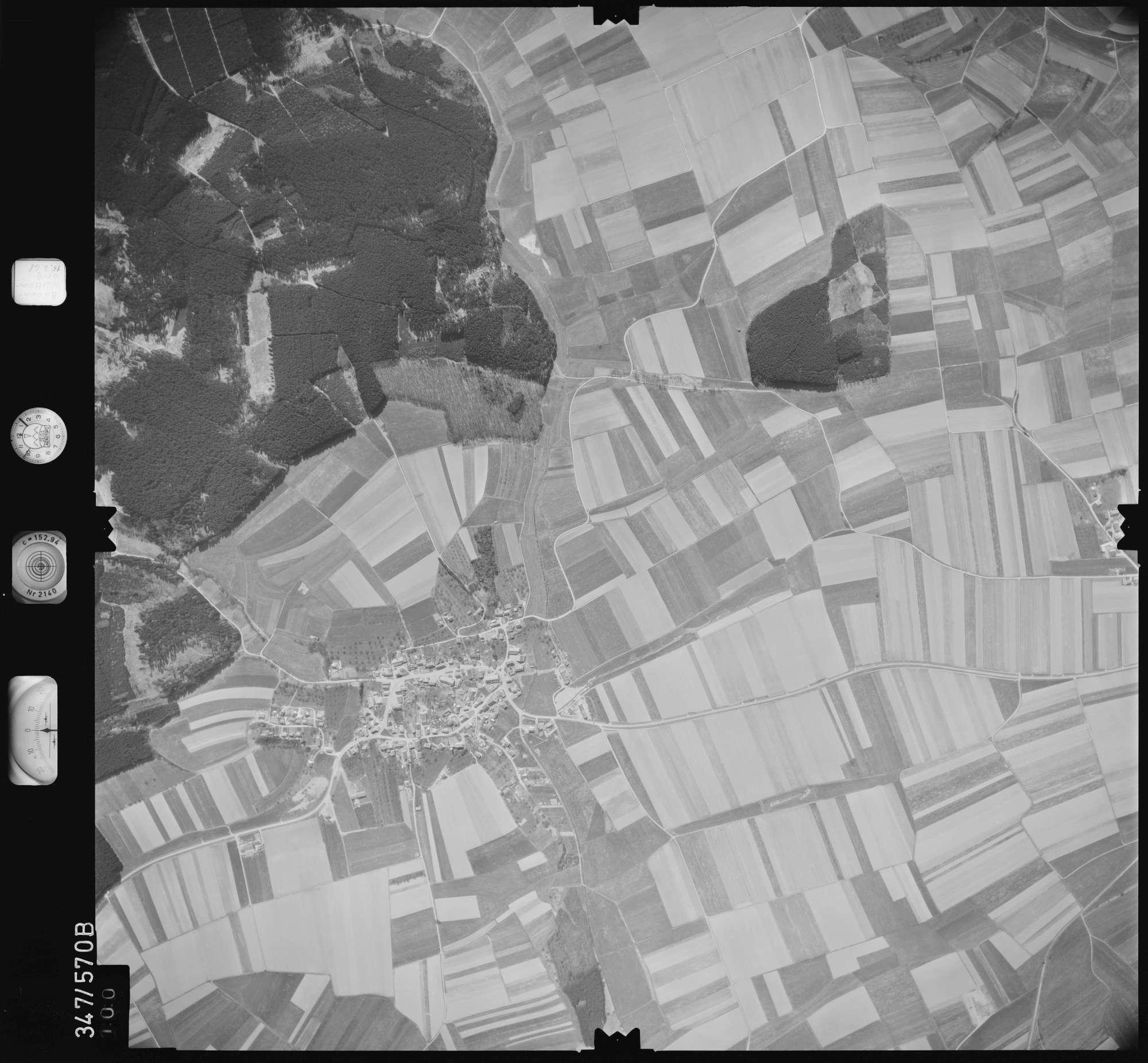 Luftbild: Film 45 Bildnr. 100, Bild 1