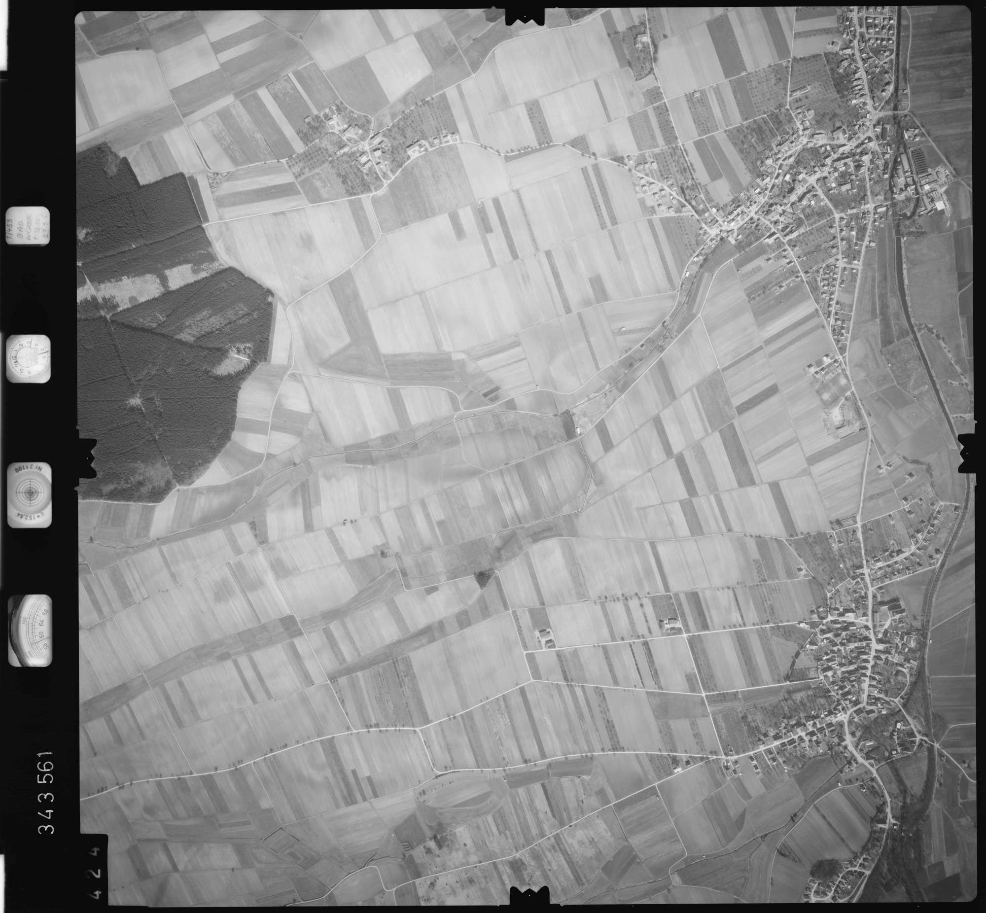 Luftbild: Film 46 Bildnr. 424, Bild 1