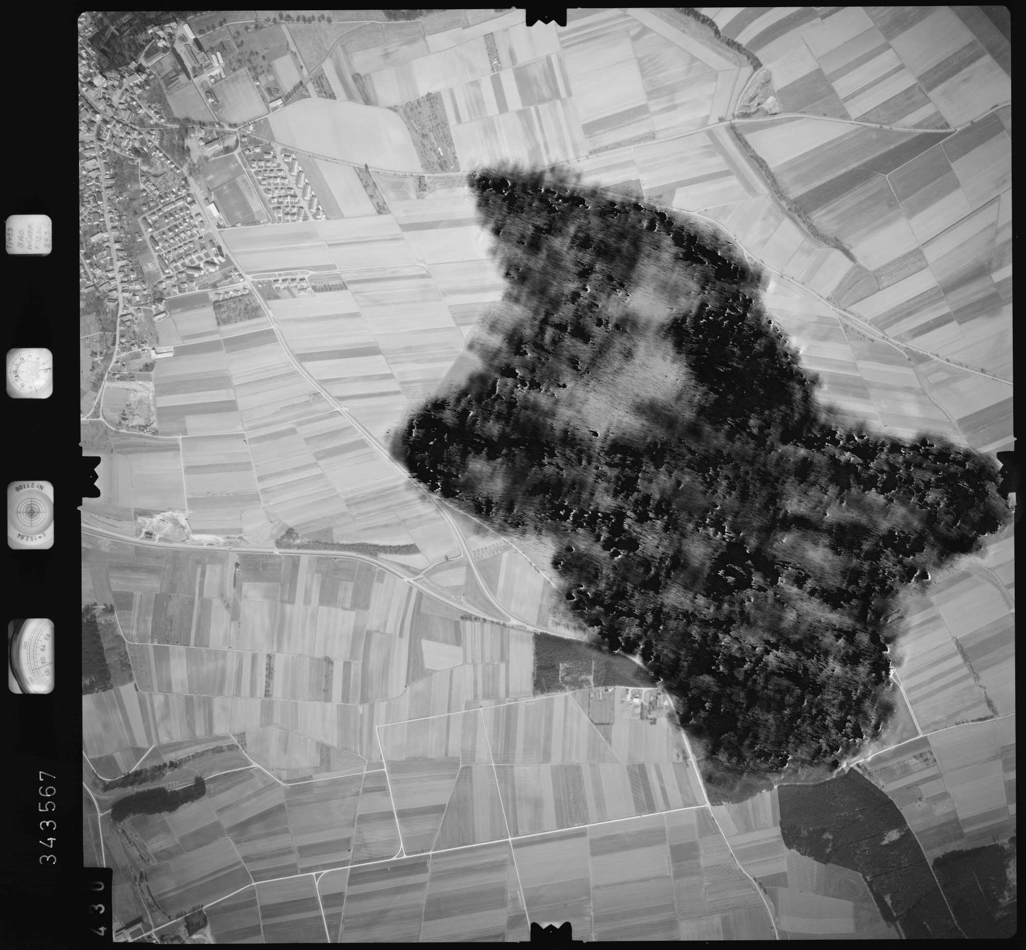 Luftbild: Film 46 Bildnr. 430, Bild 1