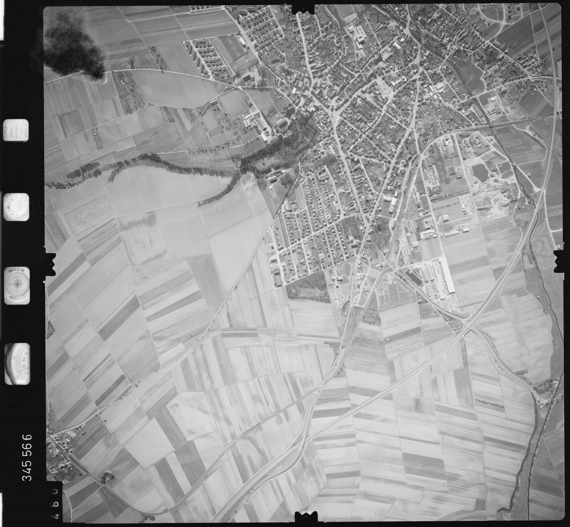 Luftbild: Film 46 Bildnr. 460, Bild 1