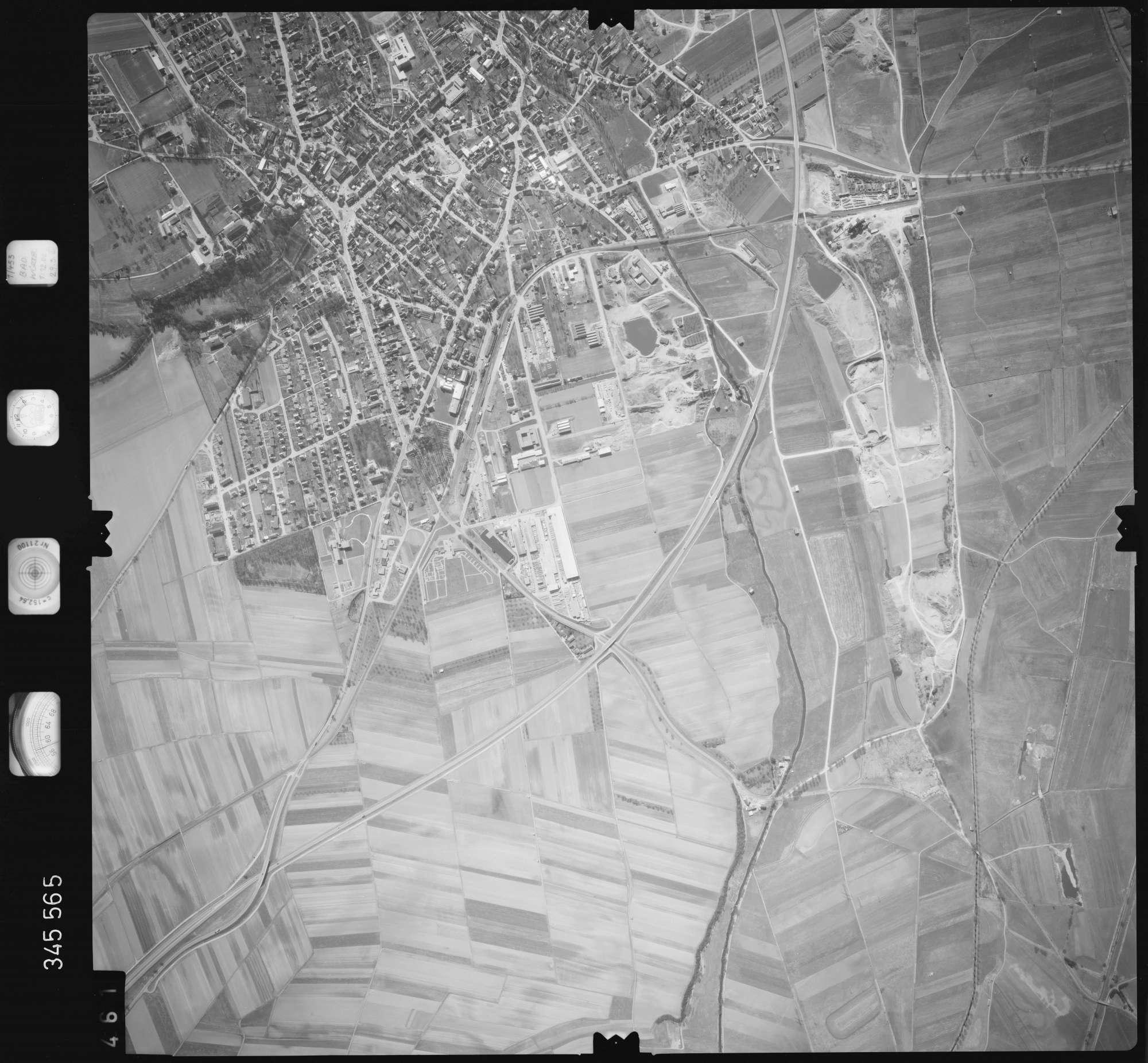Luftbild: Film 46 Bildnr. 461, Bild 1
