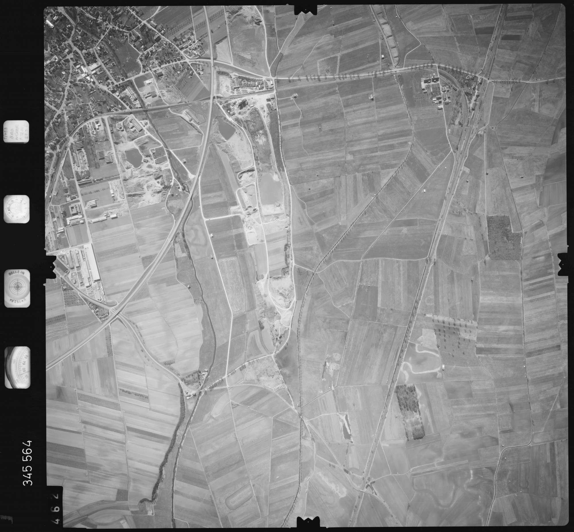 Luftbild: Film 46 Bildnr. 462, Bild 1