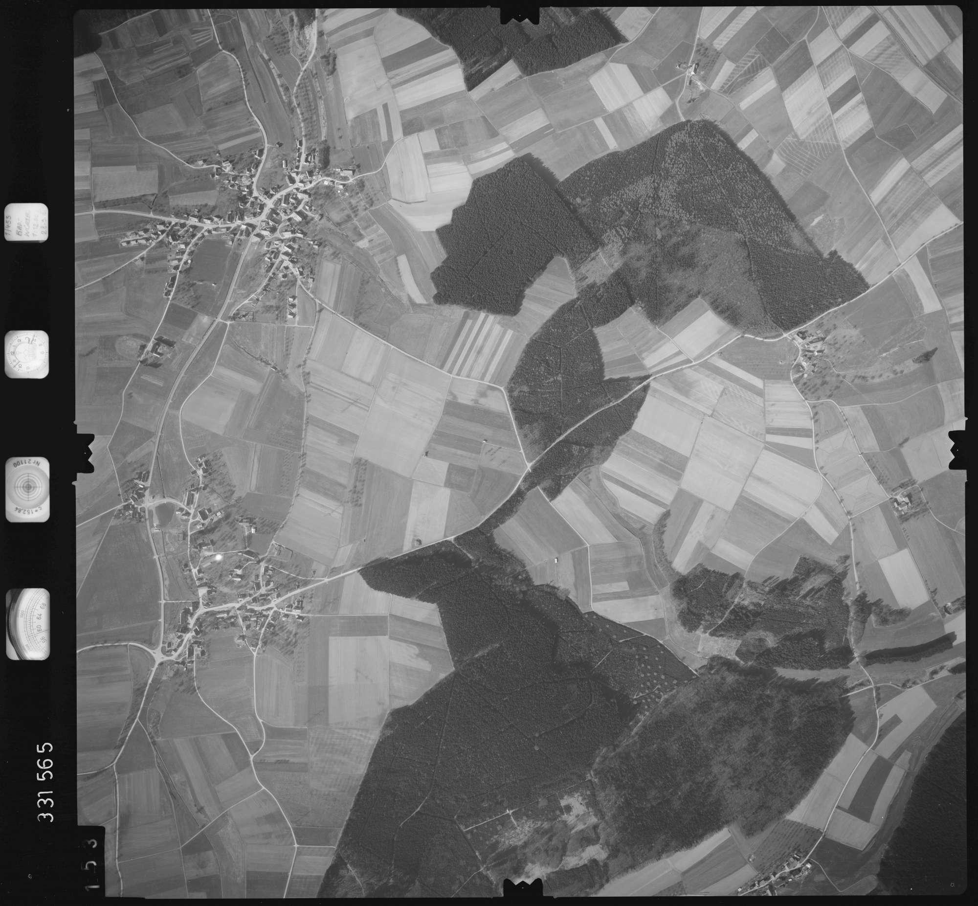 Luftbild: Film 51 Bildnr. 153, Bild 1