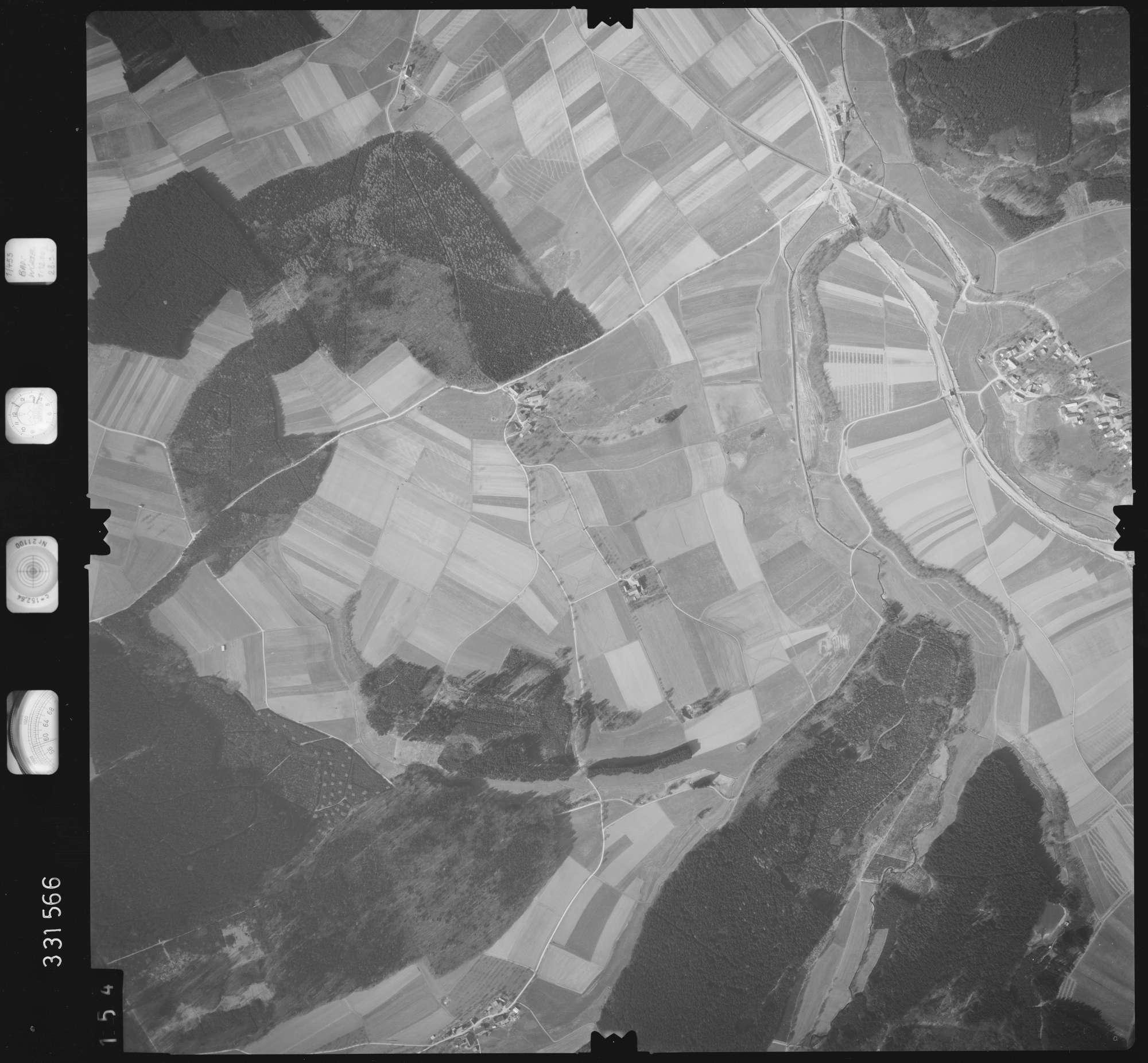 Luftbild: Film 51 Bildnr. 154, Bild 1