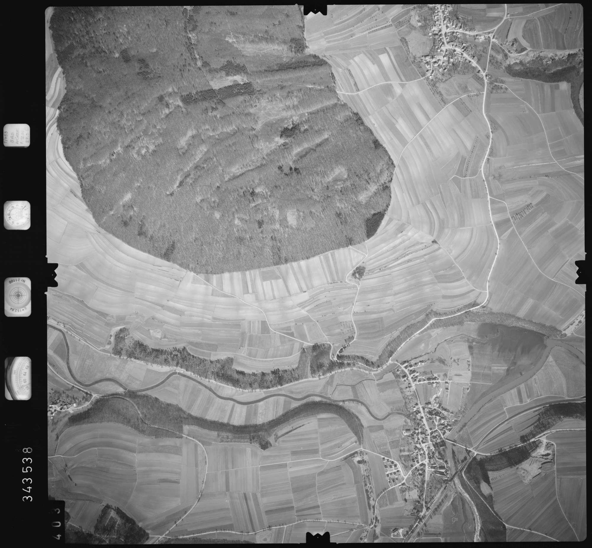 Luftbild: Film 46 Bildnr. 403, Bild 1