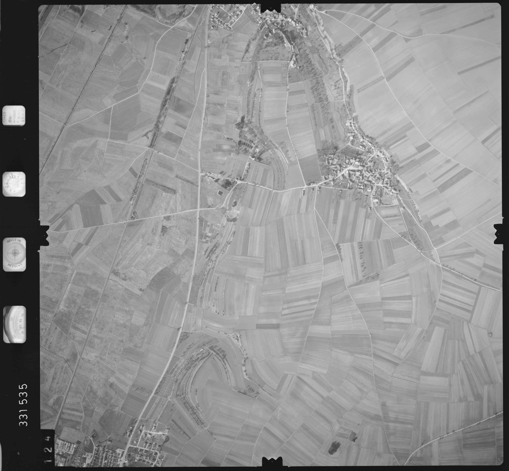 Luftbild: Film 51 Bildnr. 124, Bild 1
