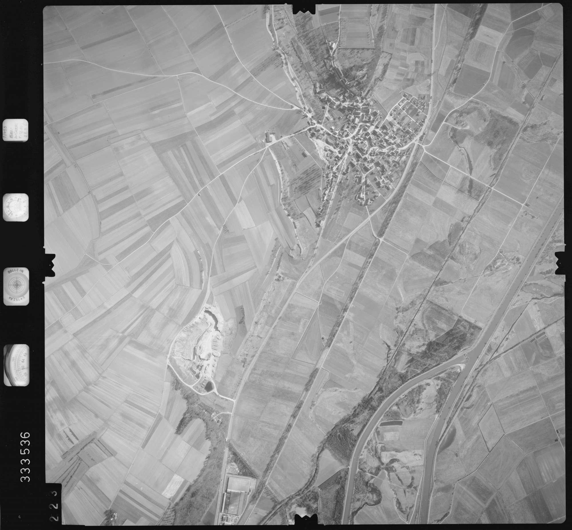 Luftbild: Film 51 Bildnr. 223, Bild 1