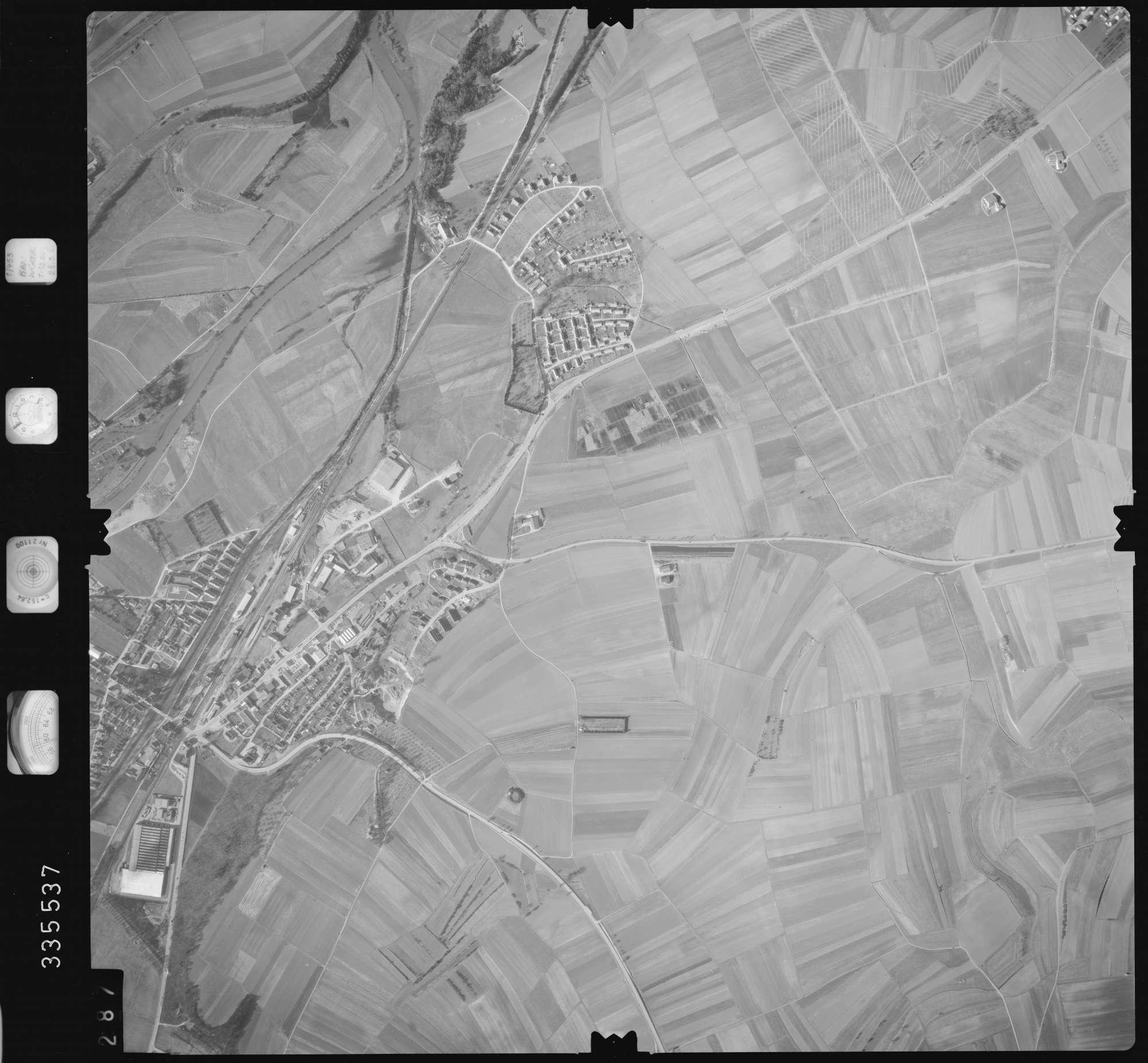 Luftbild: Film 51 Bildnr. 287, Bild 1