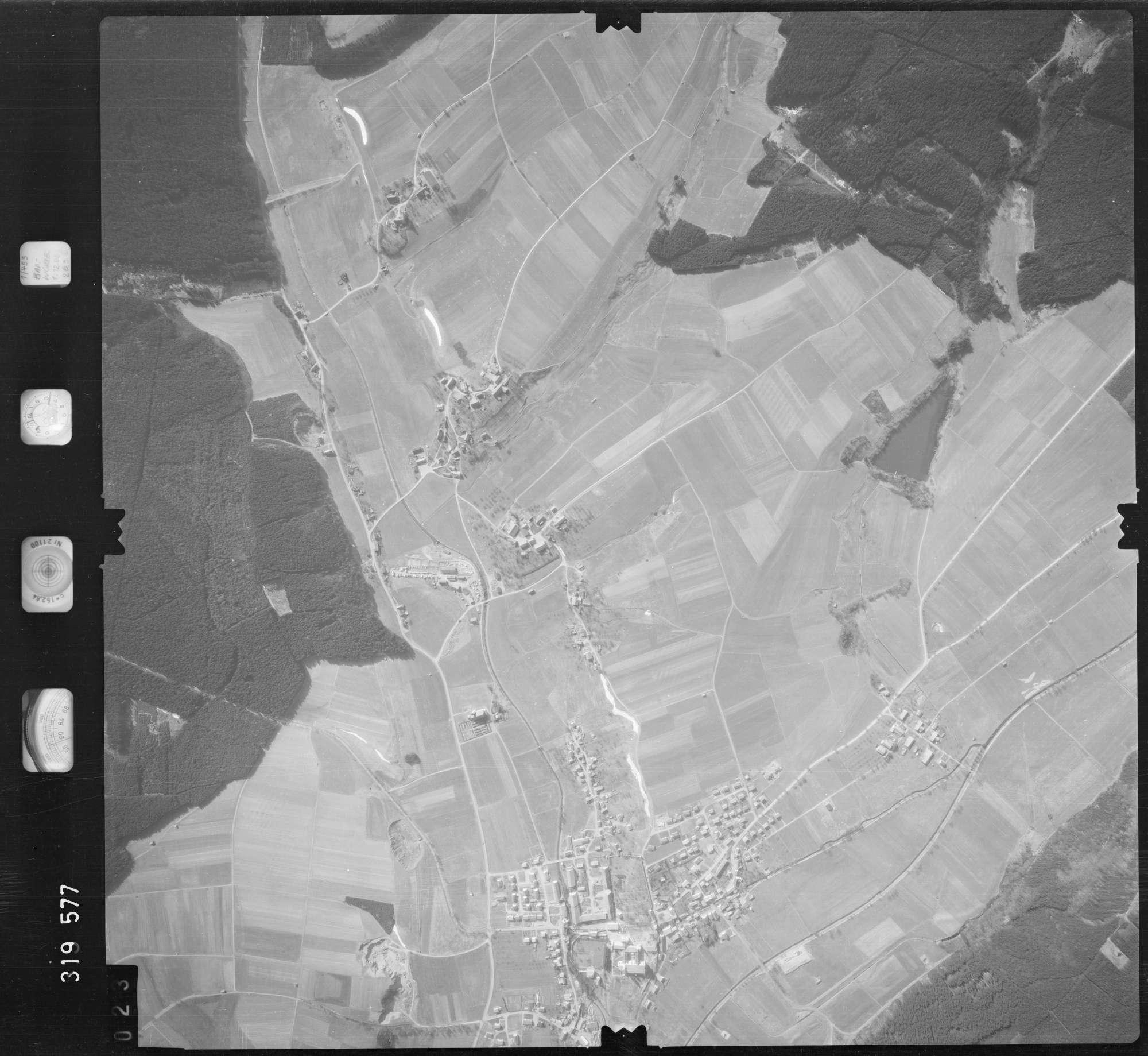 Luftbild: Film 57 Bildnr. 23, Bild 1