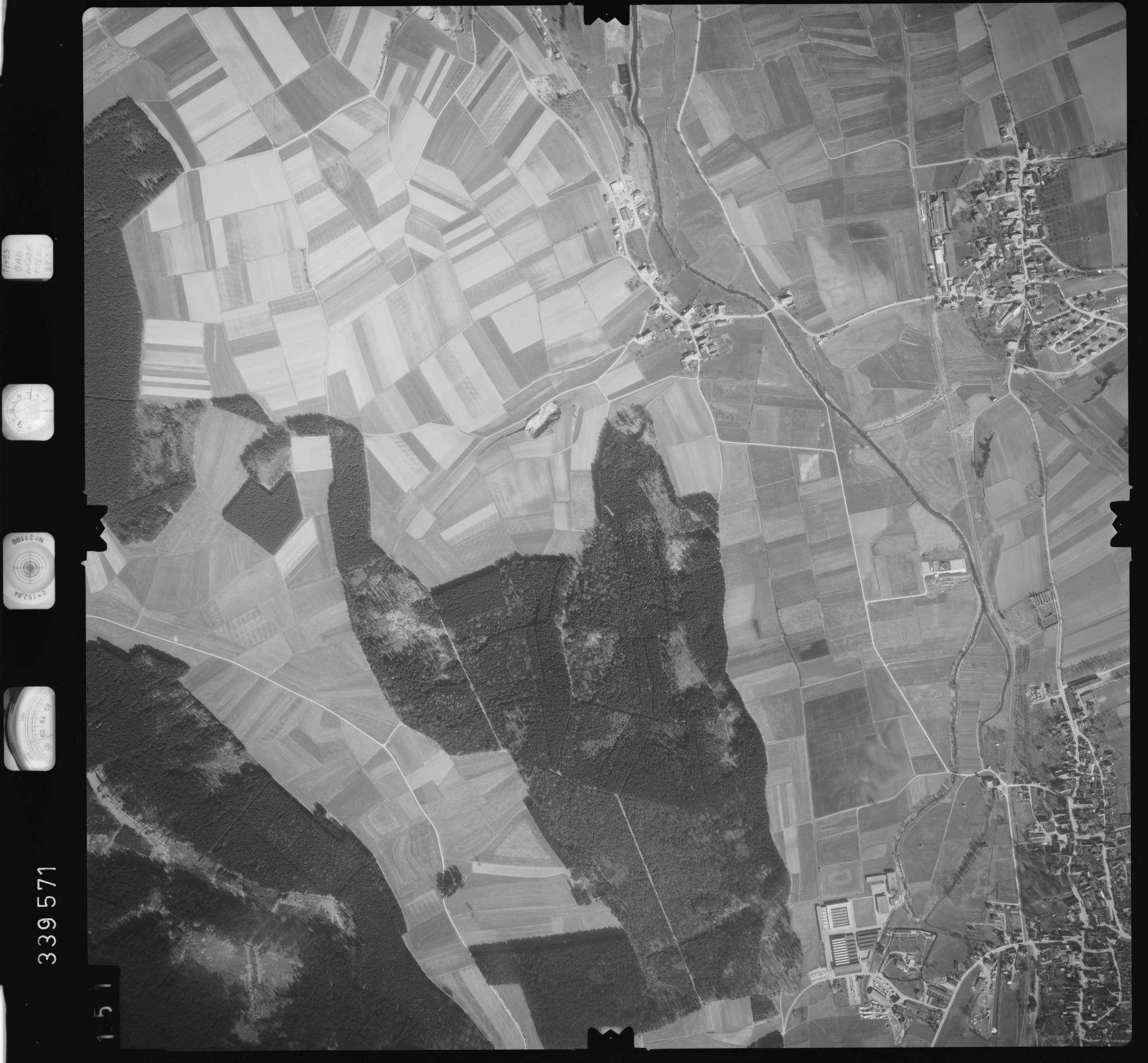 Luftbild: Film 50 Bildnr. 151, Bild 1