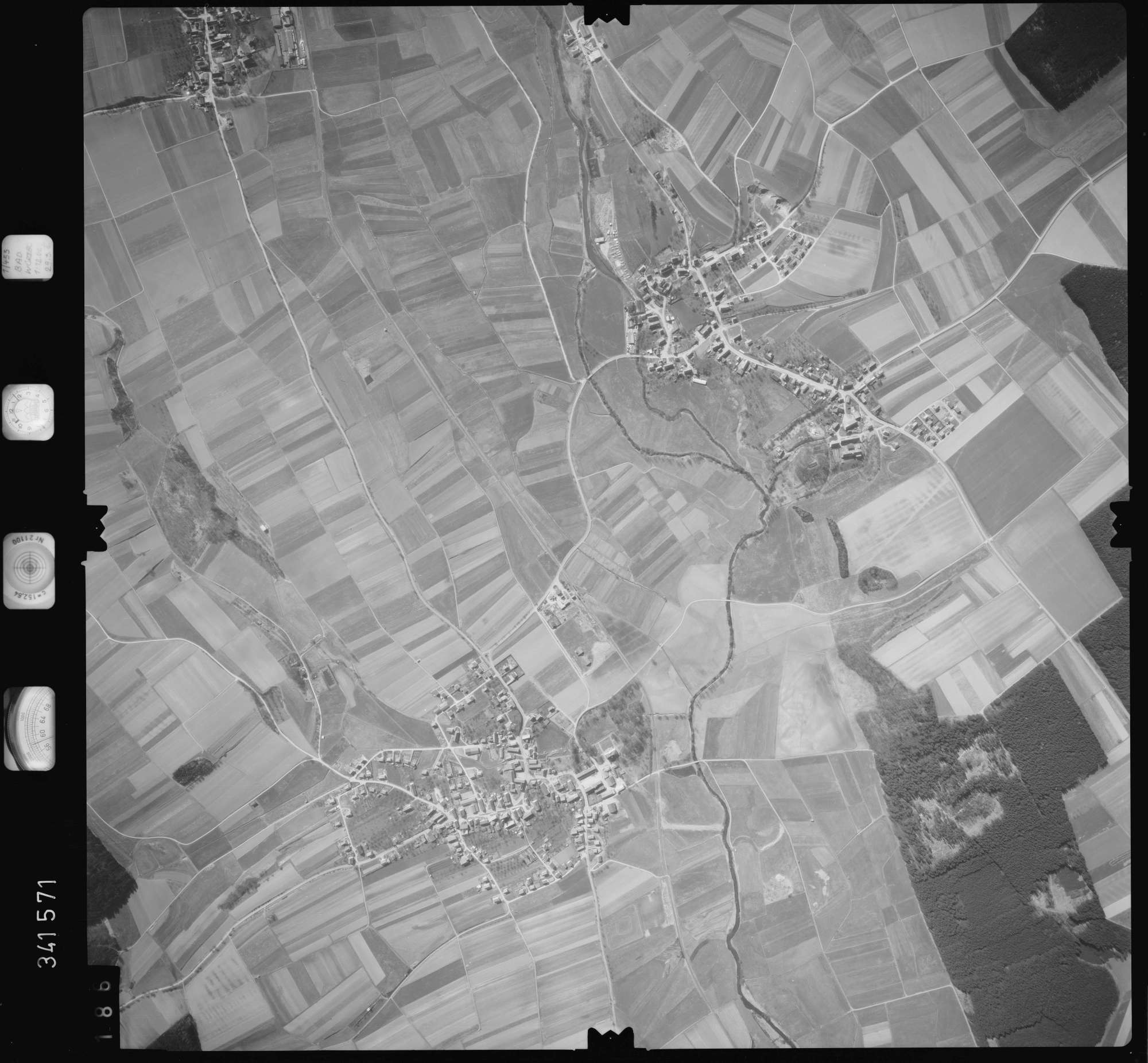 Luftbild: Film 50 Bildnr. 186, Bild 1