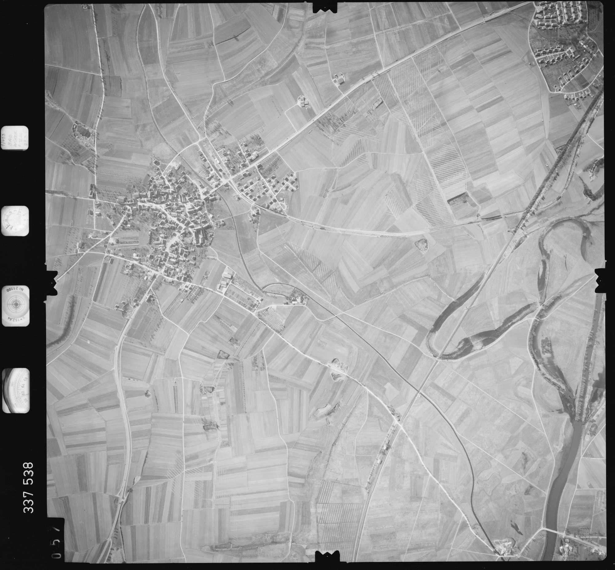 Luftbild: Film 50 Bildnr. 57, Bild 1