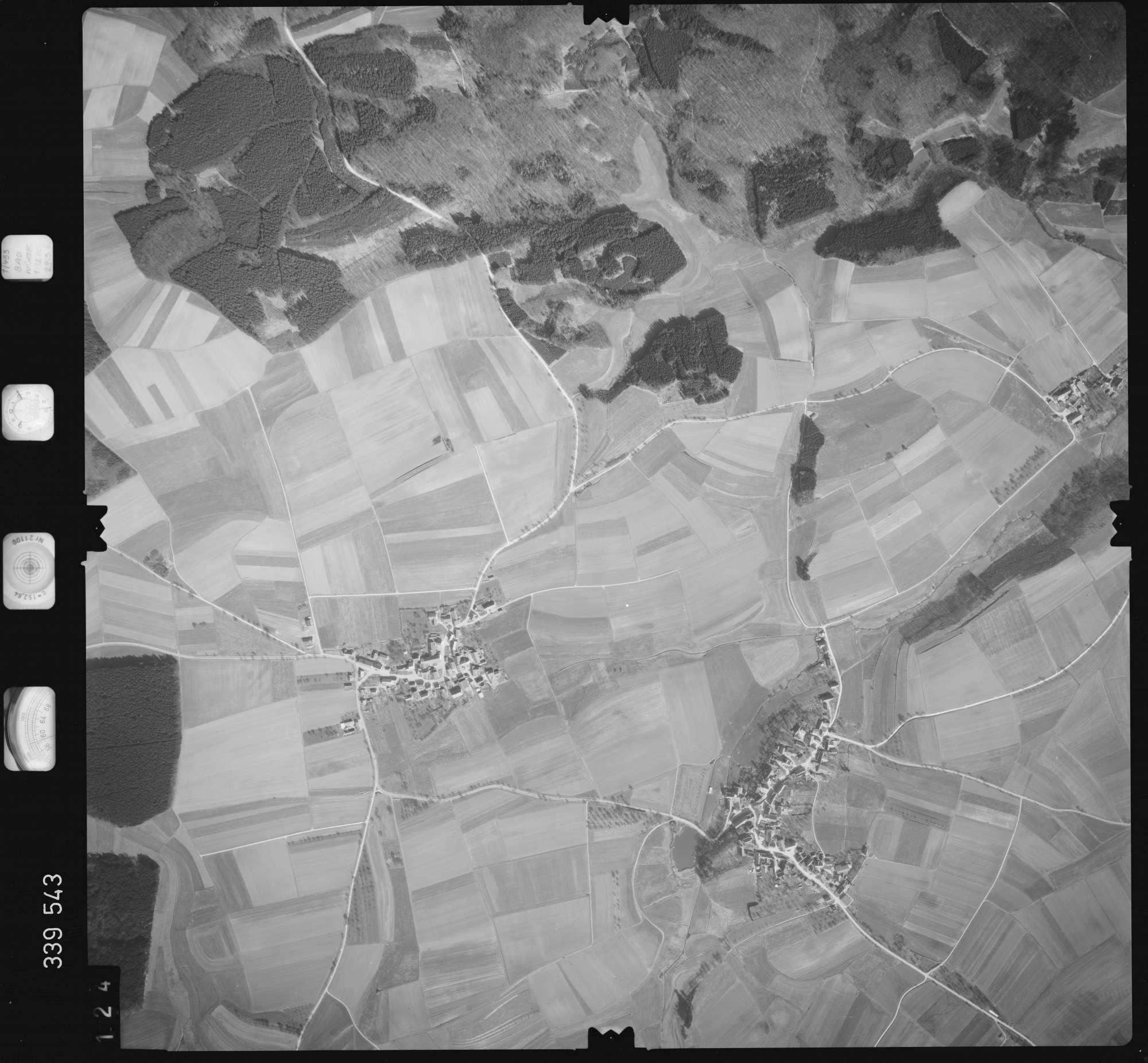 Luftbild: Film 50 Bildnr. 124, Bild 1