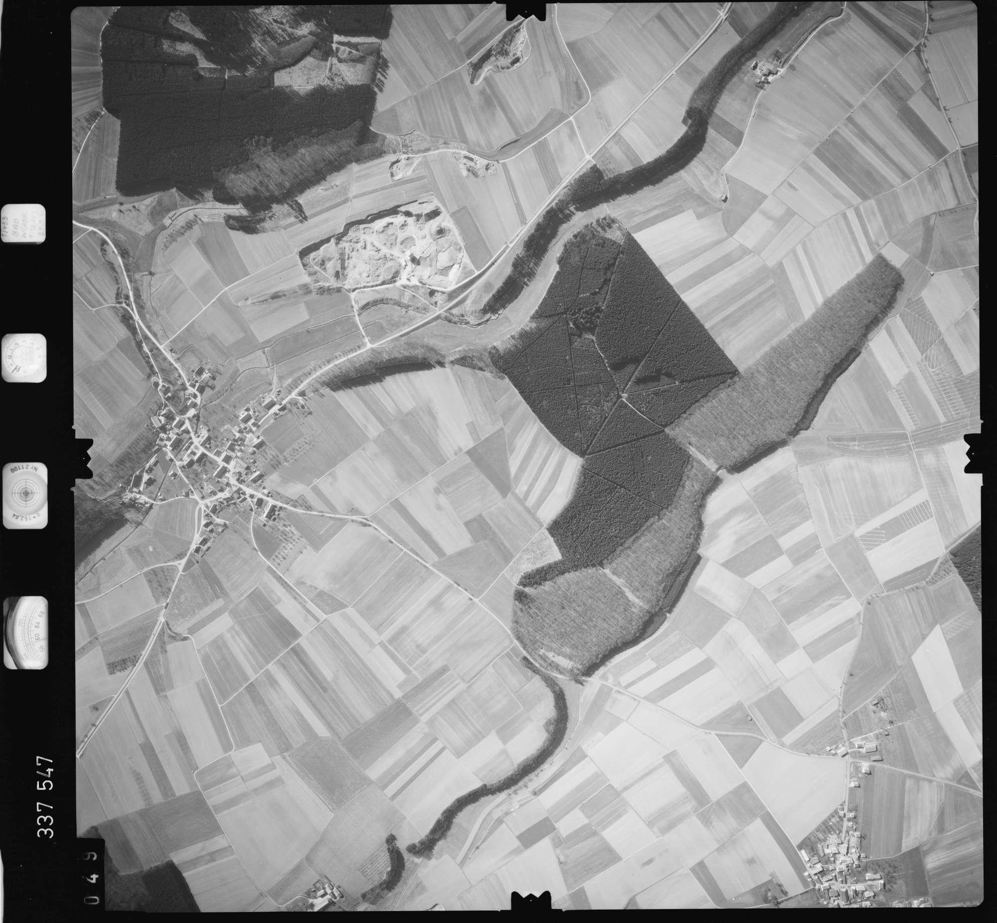Luftbild: Film 50 Bildnr. 49, Bild 1