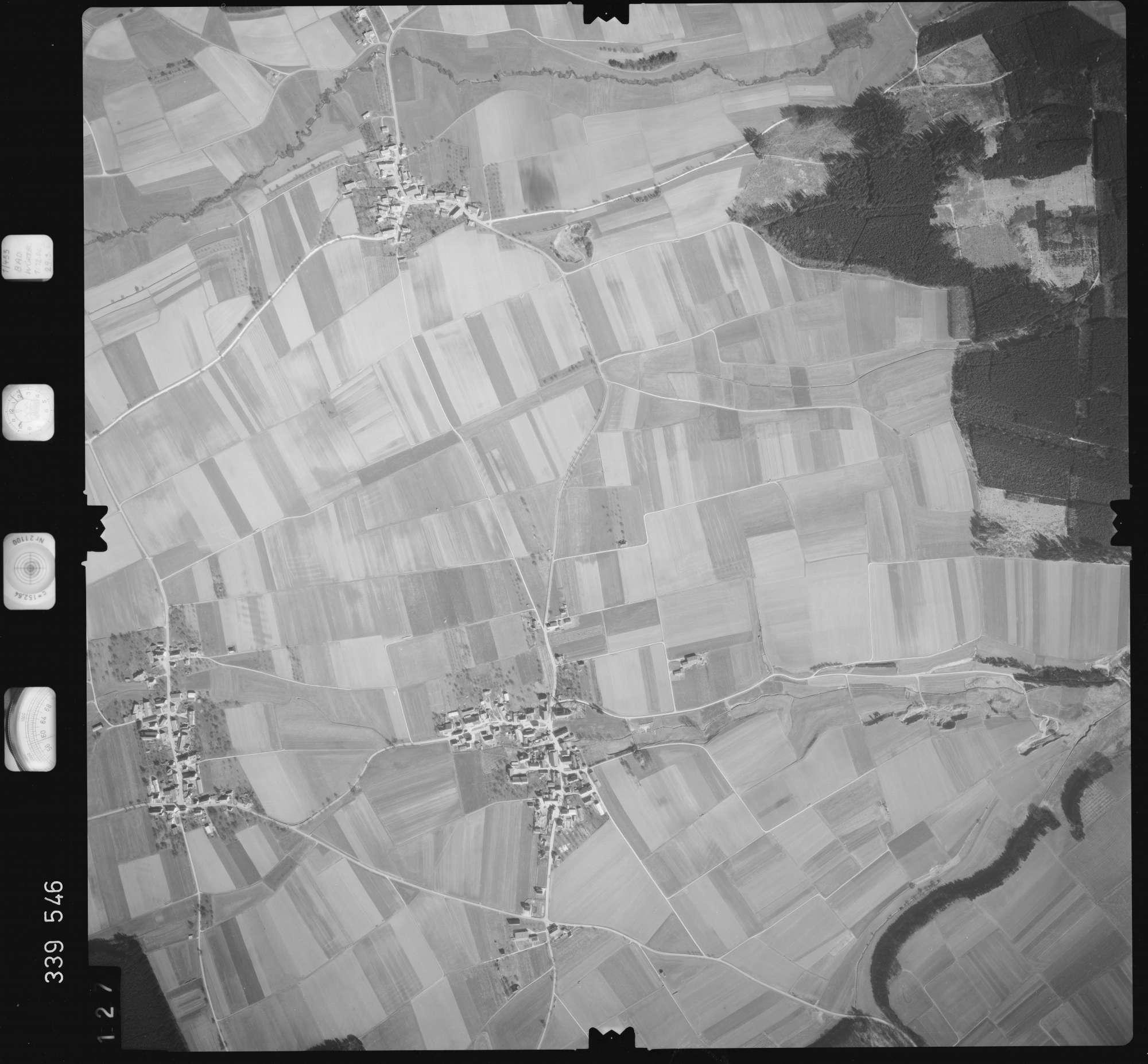 Luftbild: Film 50 Bildnr. 127, Bild 1