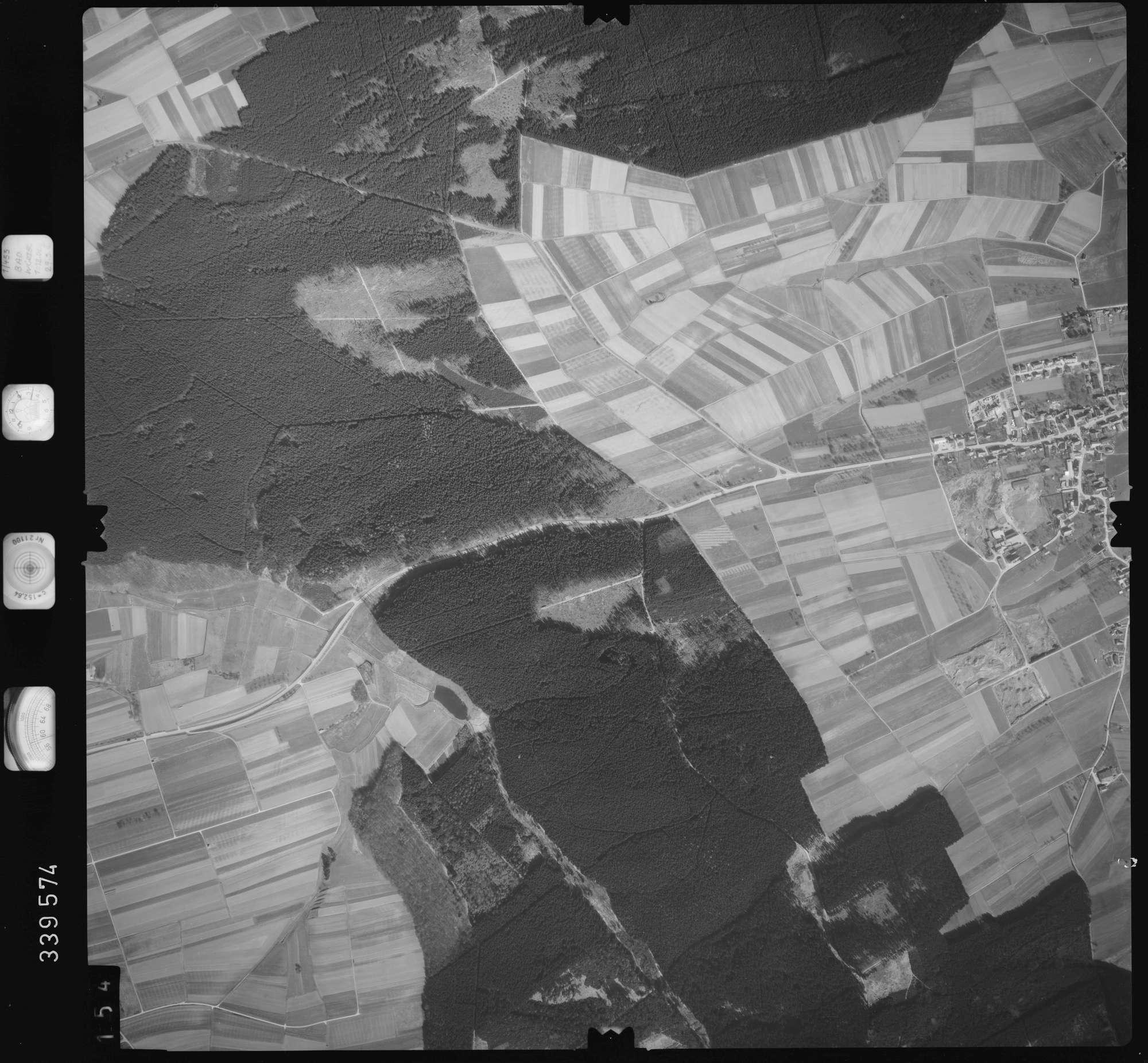 Luftbild: Film 50 Bildnr. 154, Bild 1