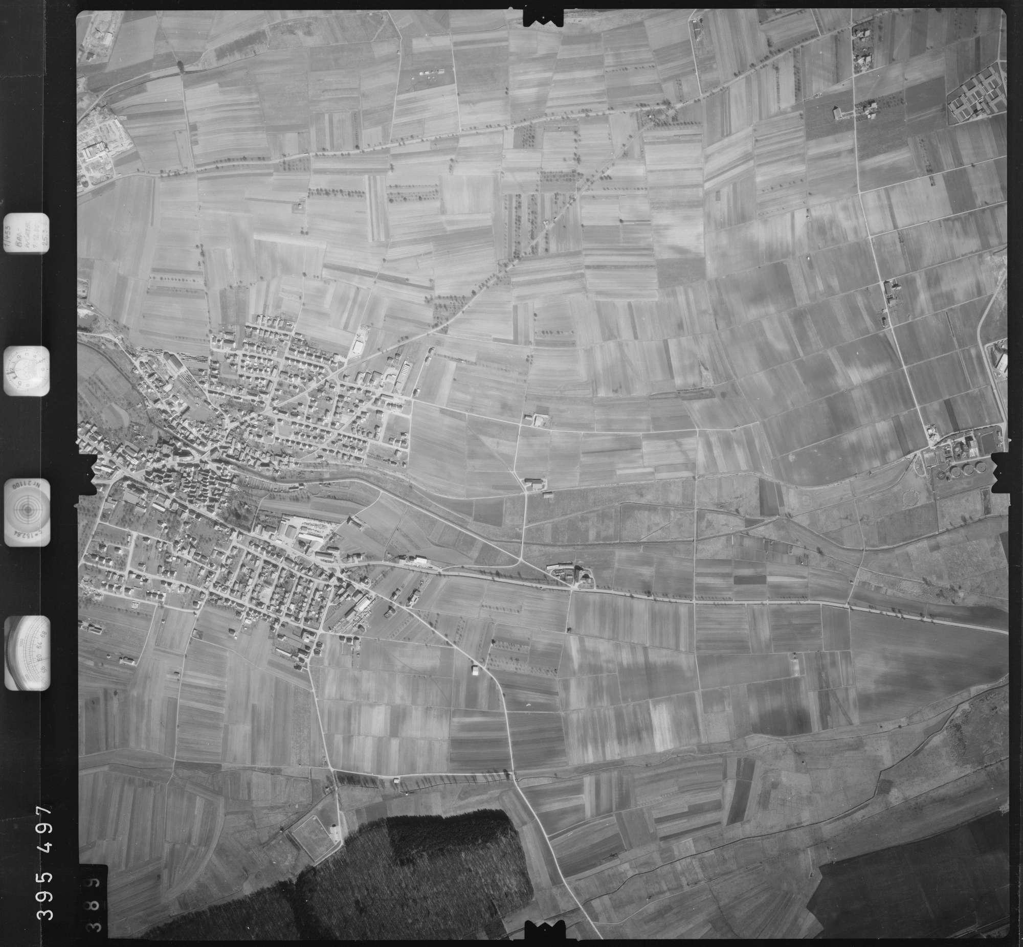 Luftbild: Film 13 Bildnr. 389, Bild 1