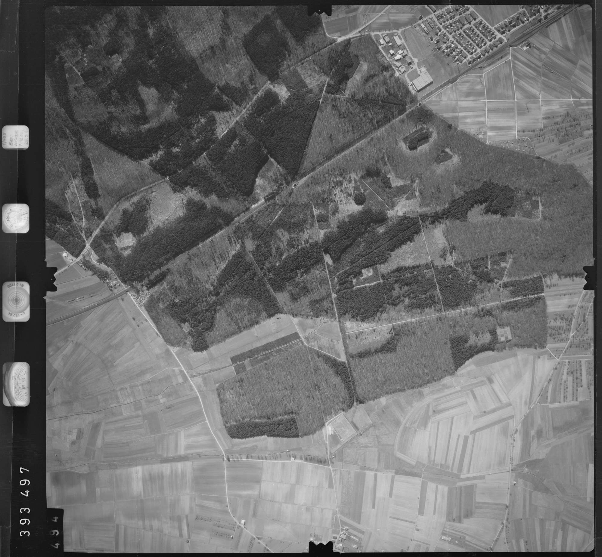 Luftbild: Film 13 Bildnr. 494, Bild 1