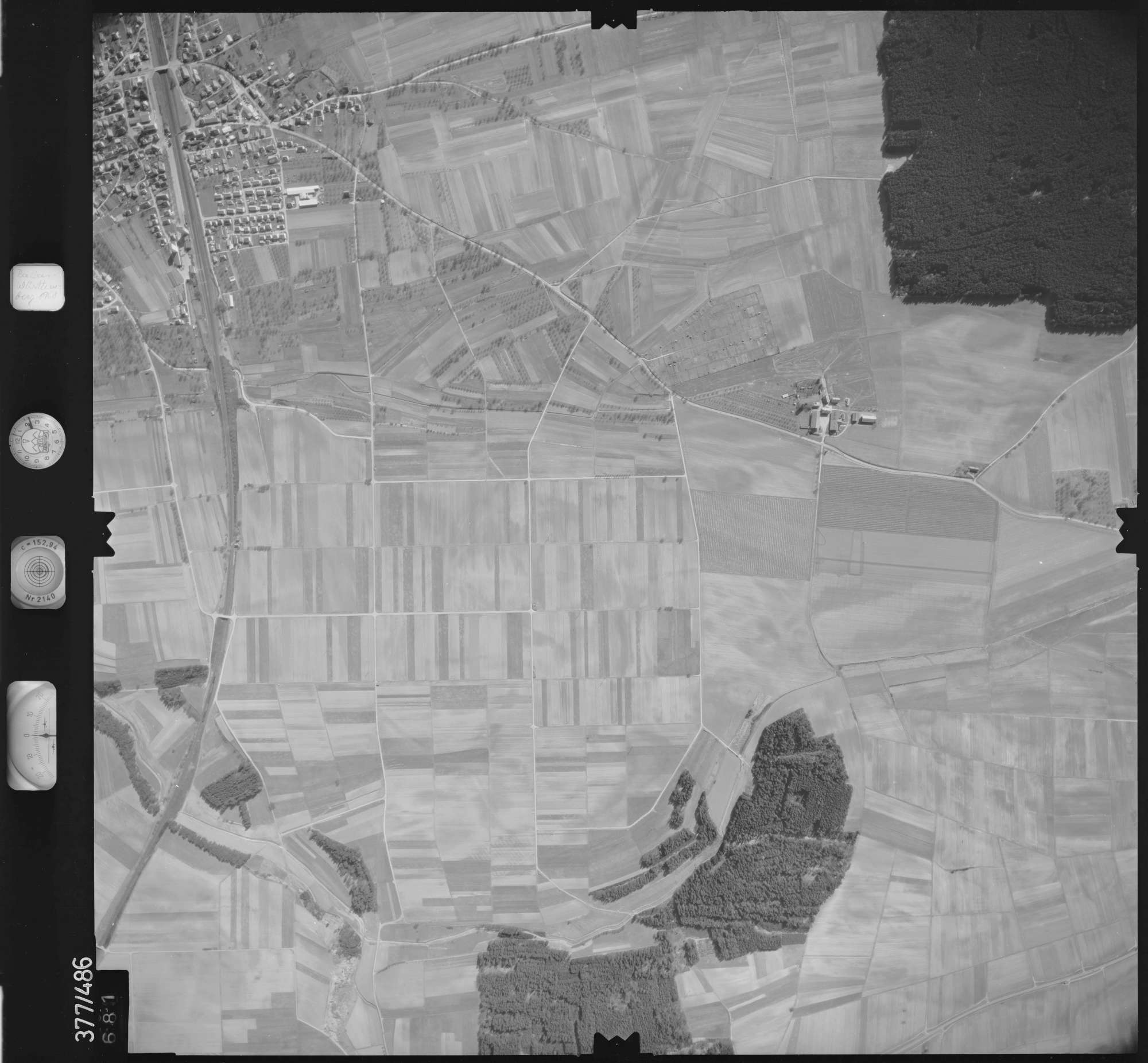 Luftbild: Film 31 Bildnr. 681, Bild 1