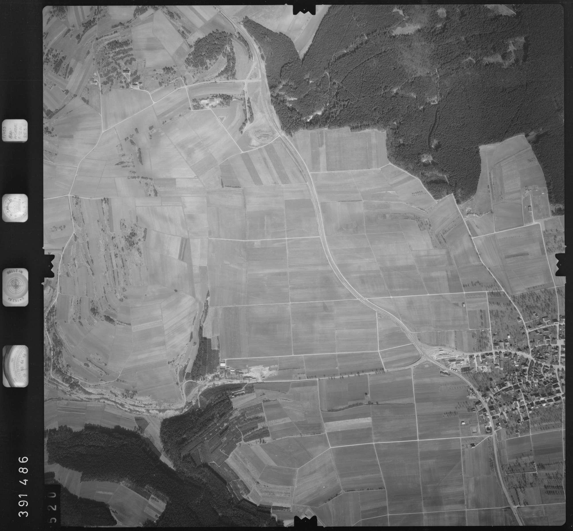 Luftbild: Film 13 Bildnr. 520, Bild 1