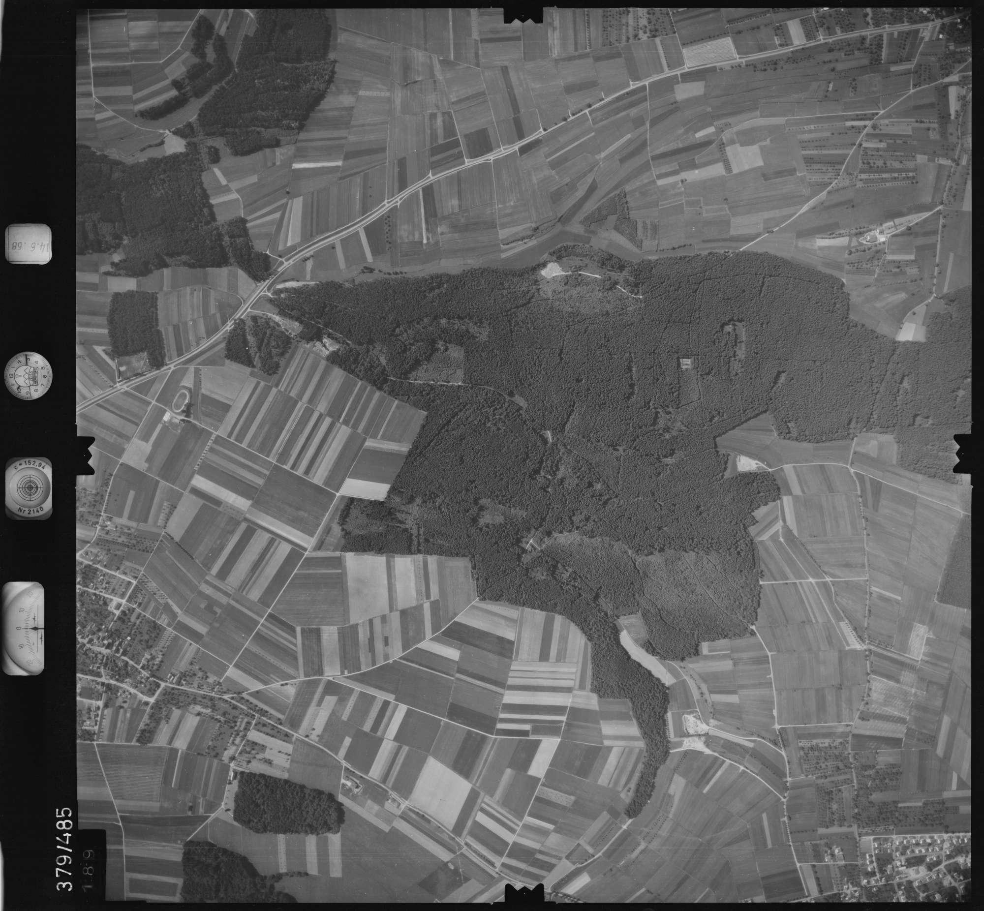 Luftbild: Film 21 Bildnr. 189, Bild 1