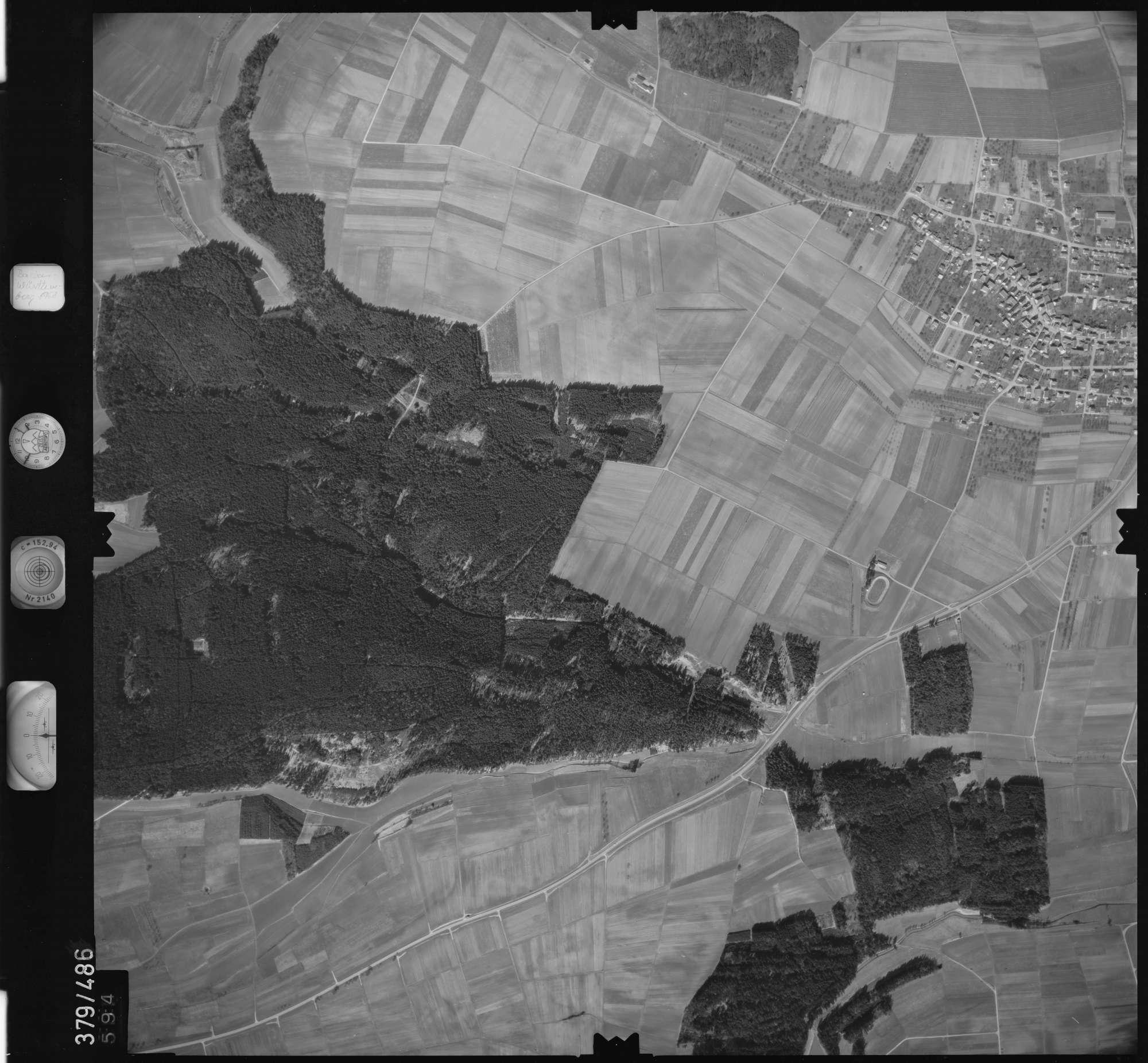 Luftbild: Film 31 Bildnr. 594, Bild 1