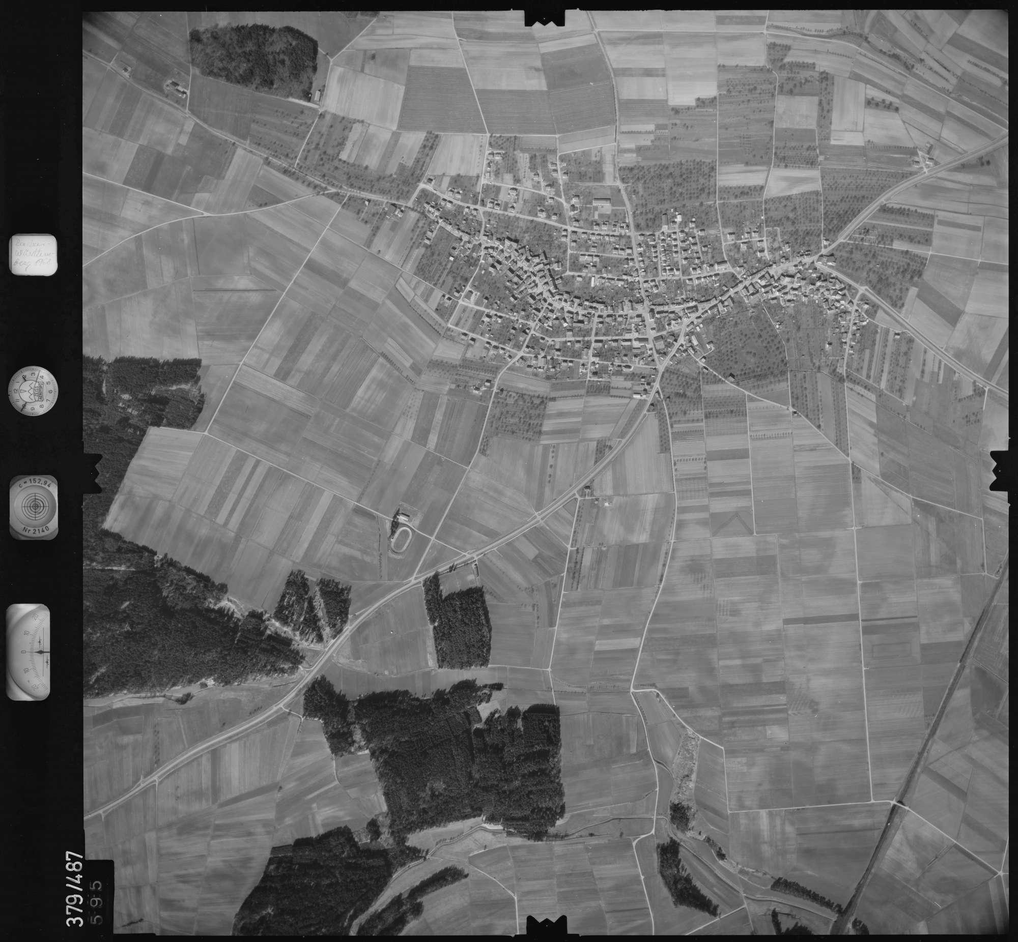 Luftbild: Film 31 Bildnr. 595, Bild 1