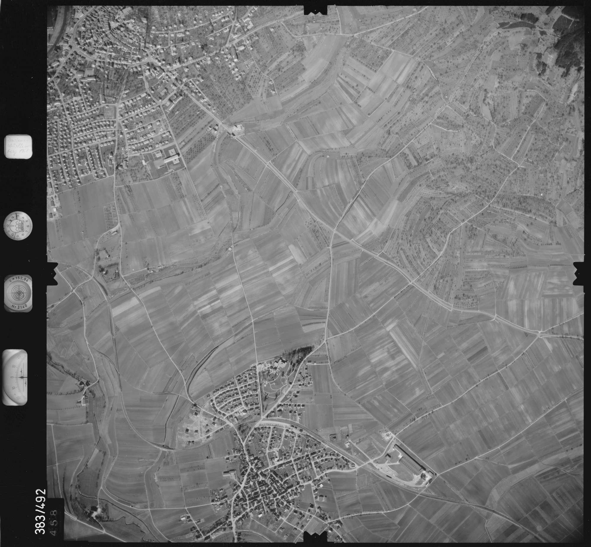 Luftbild: Film 26 Bildnr. 458, Bild 1