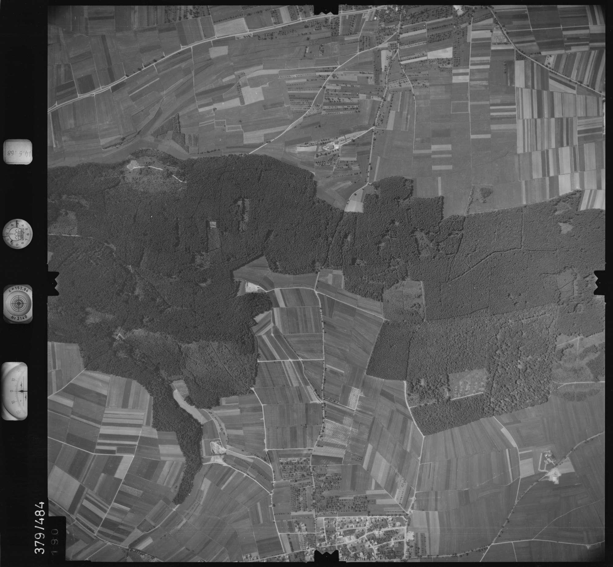 Luftbild: Film 21 Bildnr. 190, Bild 1