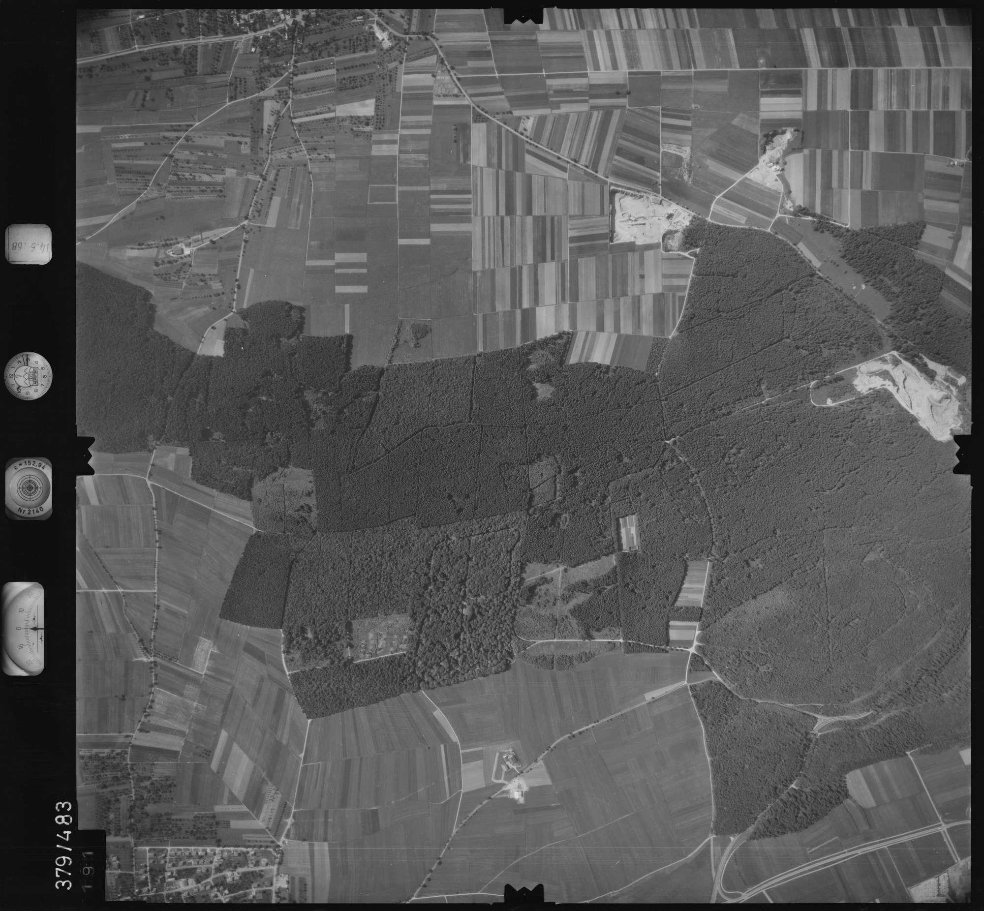 Luftbild: Film 21 Bildnr. 191, Bild 1