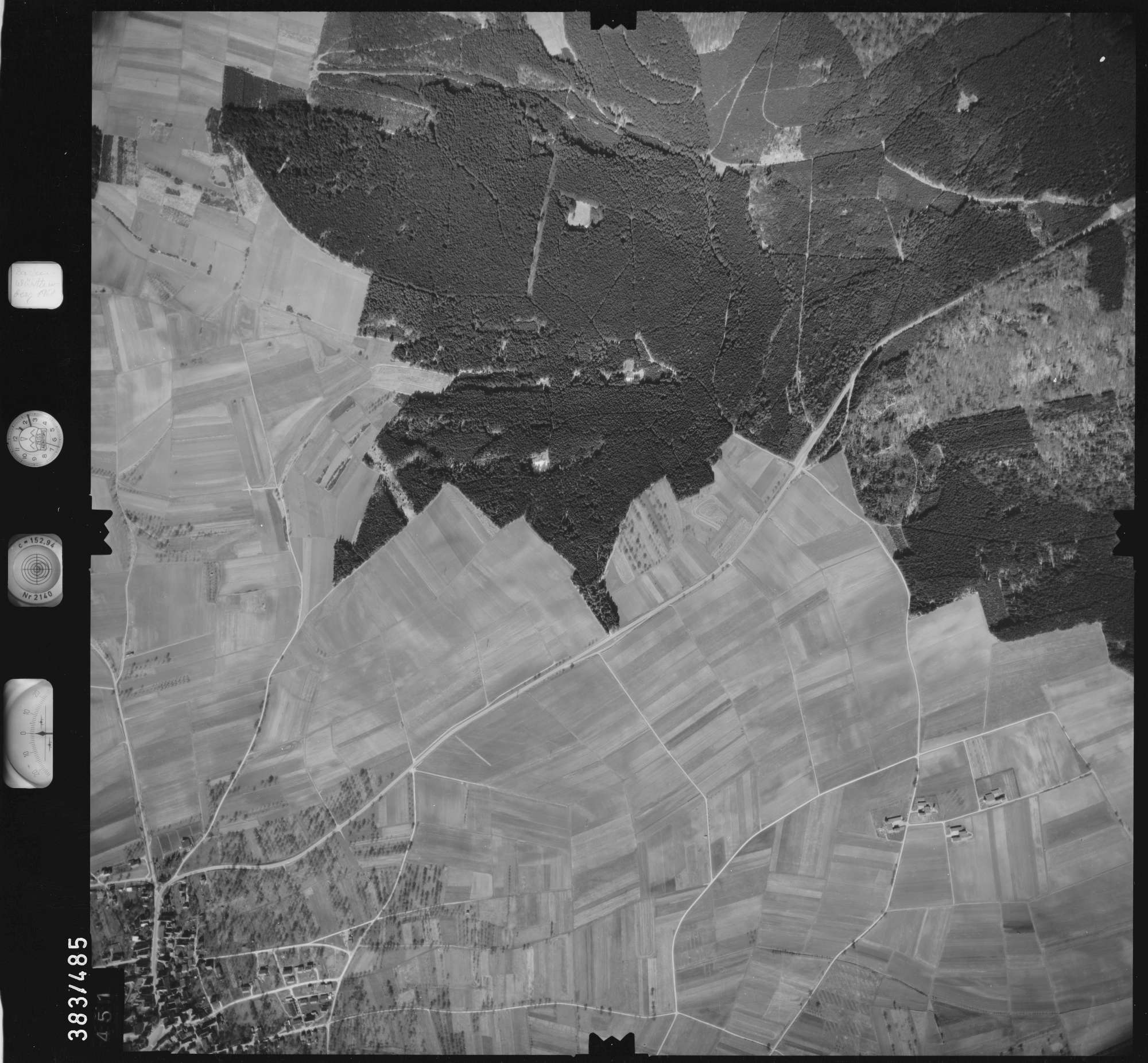 Luftbild: Film 26 Bildnr. 451, Bild 1