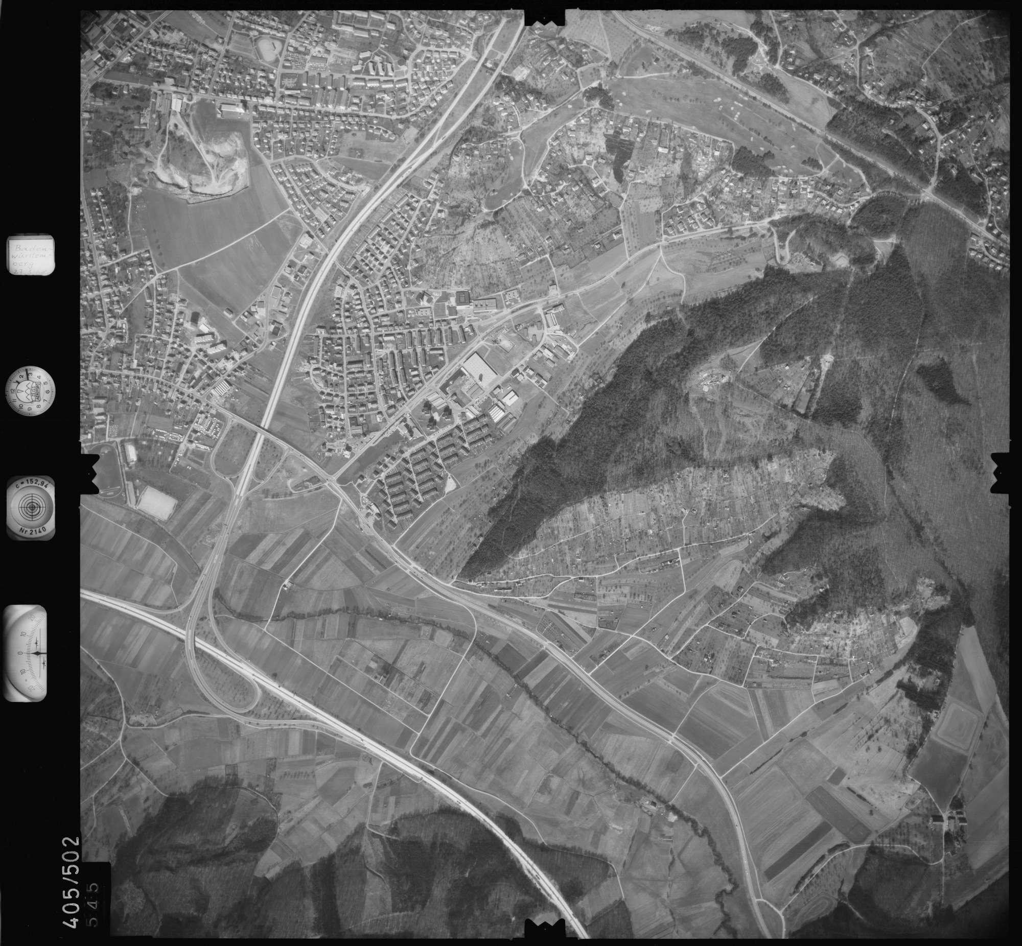 Luftbild: Film 10 Bildnr. 545, Bild 1