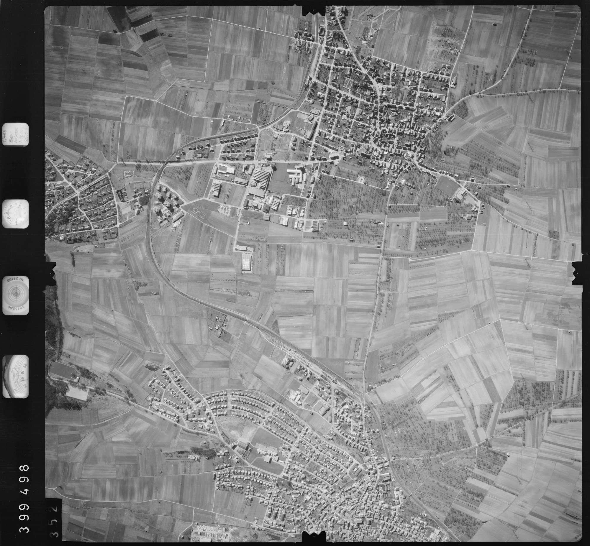 Luftbild: Film 13 Bildnr. 352, Bild 1