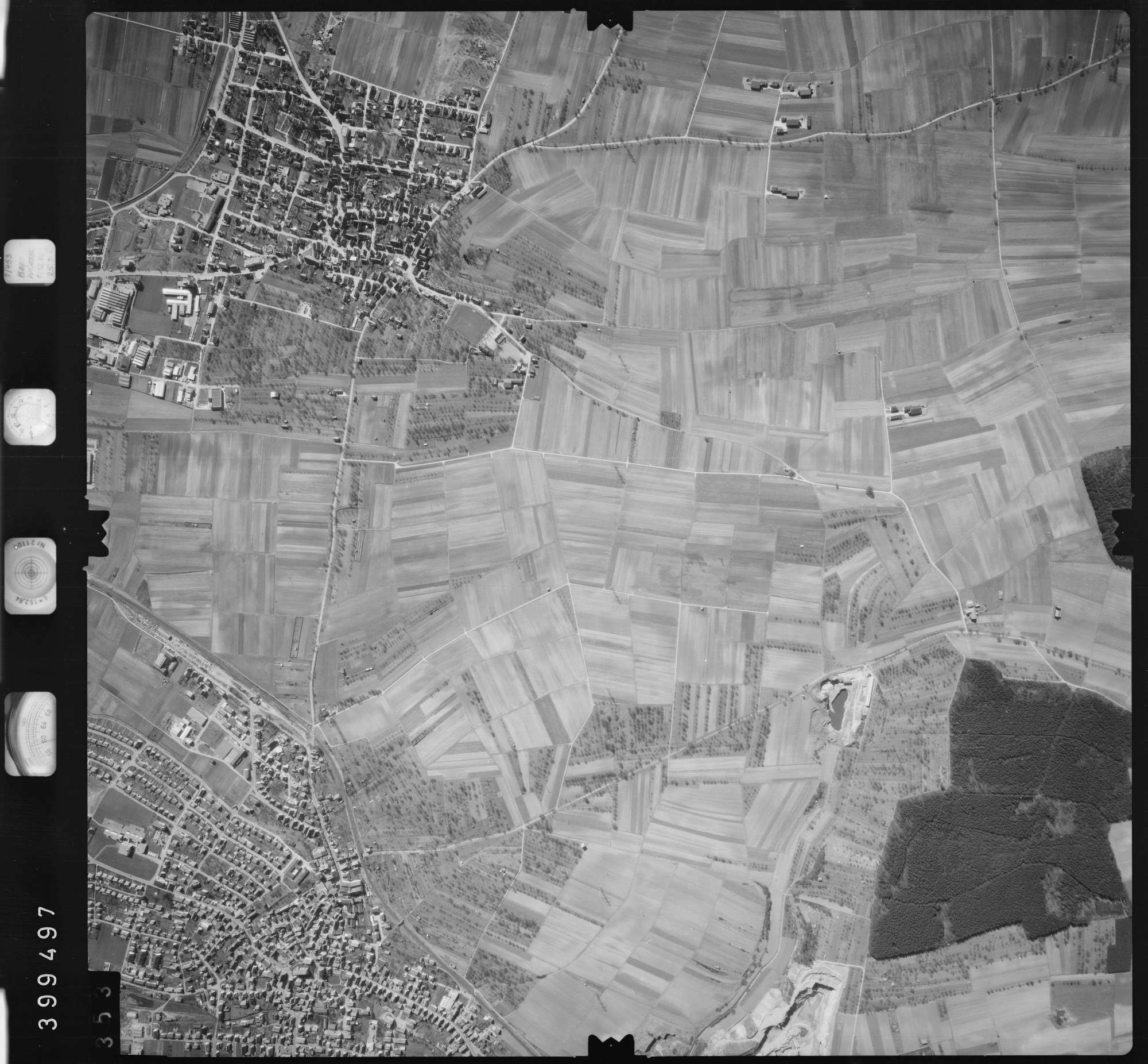 Luftbild: Film 13 Bildnr. 353, Bild 1
