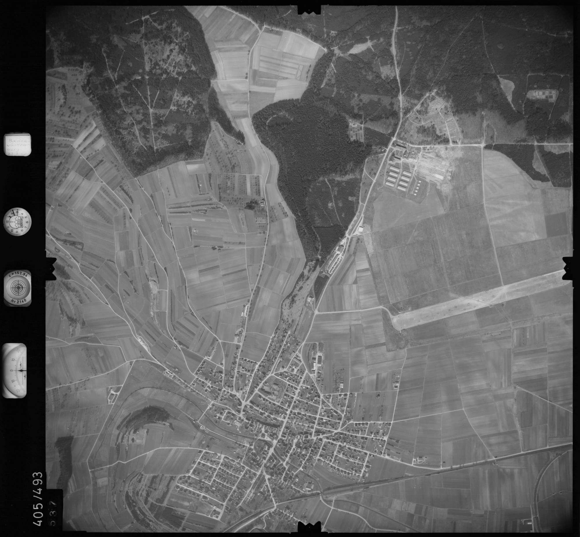 Luftbild: Film 10 Bildnr. 537, Bild 1