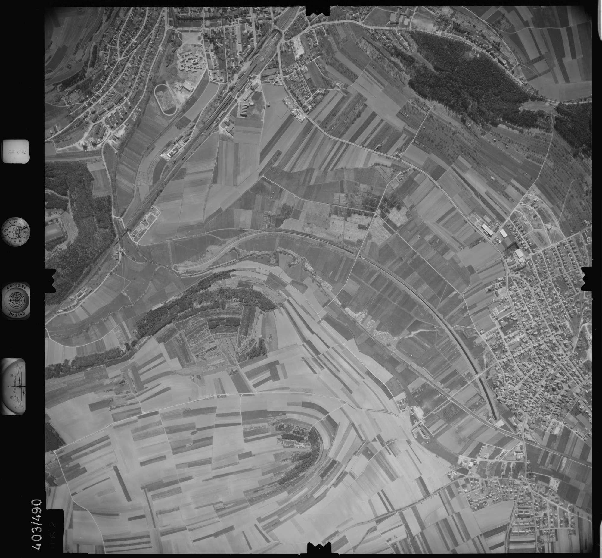 Luftbild: Film 9 Bildnr. 62, Bild 1